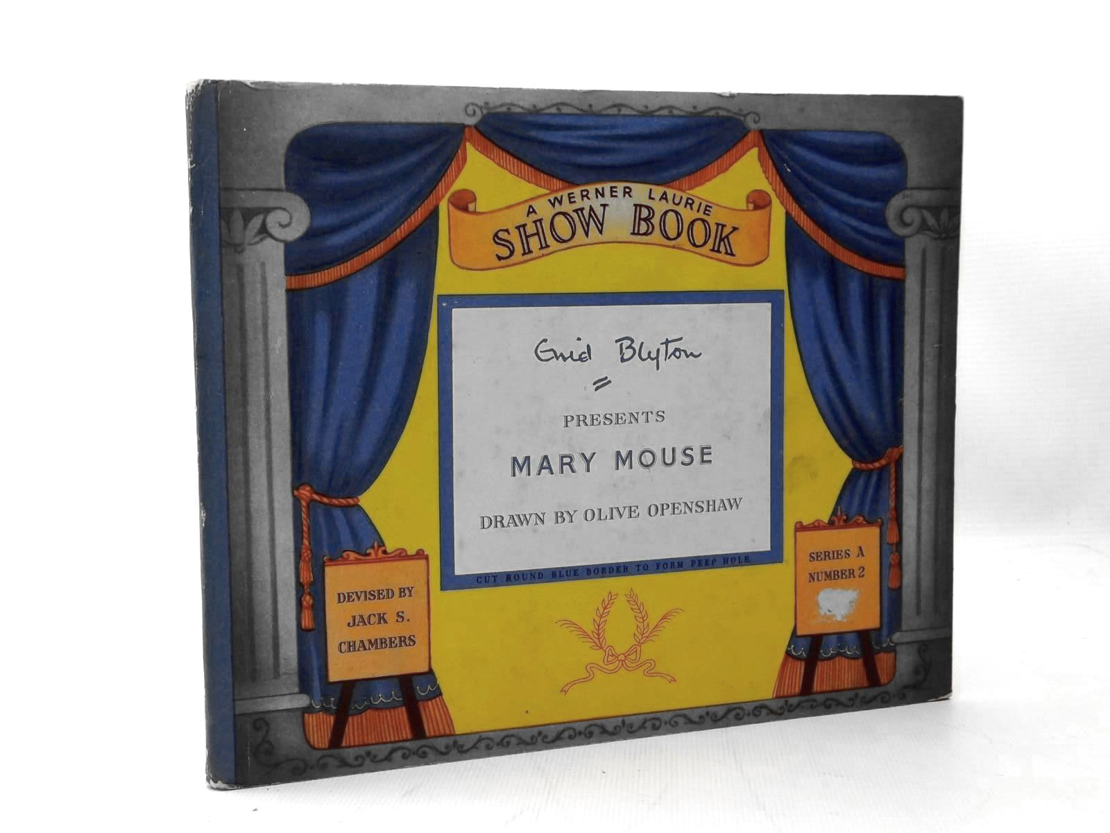 Photo of ENID BLYTON PRESENTS MARY MOUSE written by Blyton, Enid illustrated by Openshaw, Olive F. published by T. Werner Laurie Ltd. (STOCK CODE: 2123306)  for sale by Stella & Rose's Books