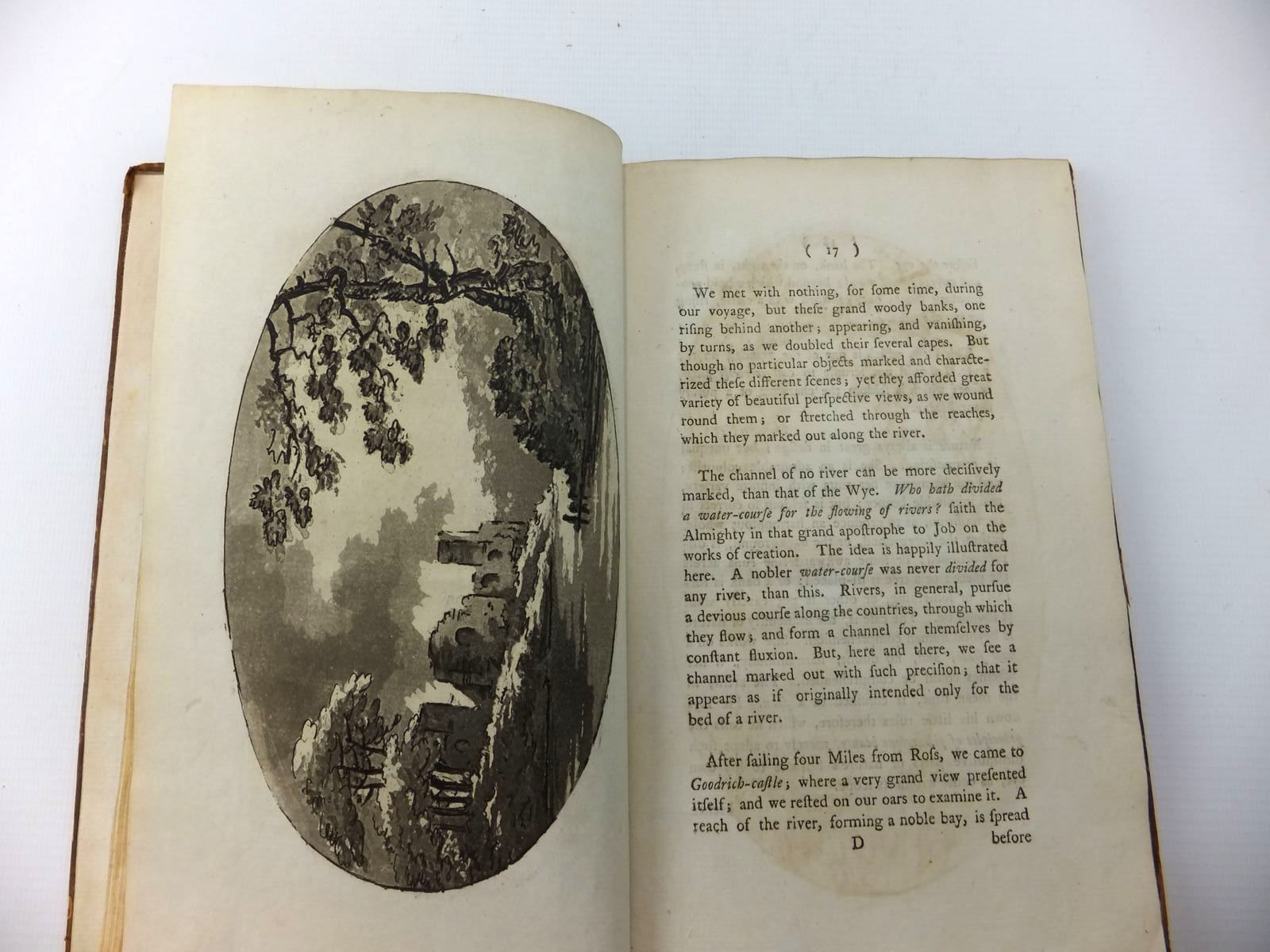 Photo of OBSERVATIONS ON THE RIVER WYE written by Gilpin, William published by R. Blamire (STOCK CODE: 2123311)  for sale by Stella & Rose's Books