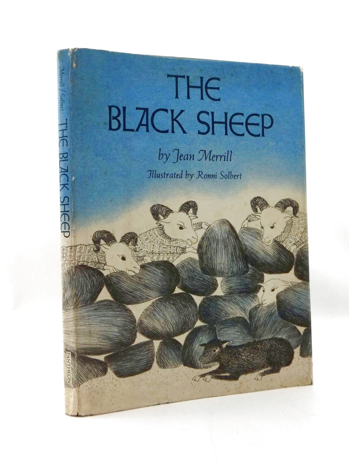 Photo of THE BLACK SHEEP written by Merrill, Jean illustrated by Solbert, Ronni published by Pantheon Books (STOCK CODE: 2123375)  for sale by Stella & Rose's Books