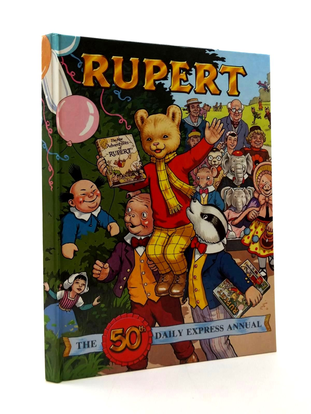 Photo of RUPERT ANNUAL 1985 written by Bestall, Alfred<br />Henderson, James illustrated by Bestall, Alfred<br />Harrold, John published by Express Newspapers Ltd. (STOCK CODE: 2123377)  for sale by Stella & Rose's Books