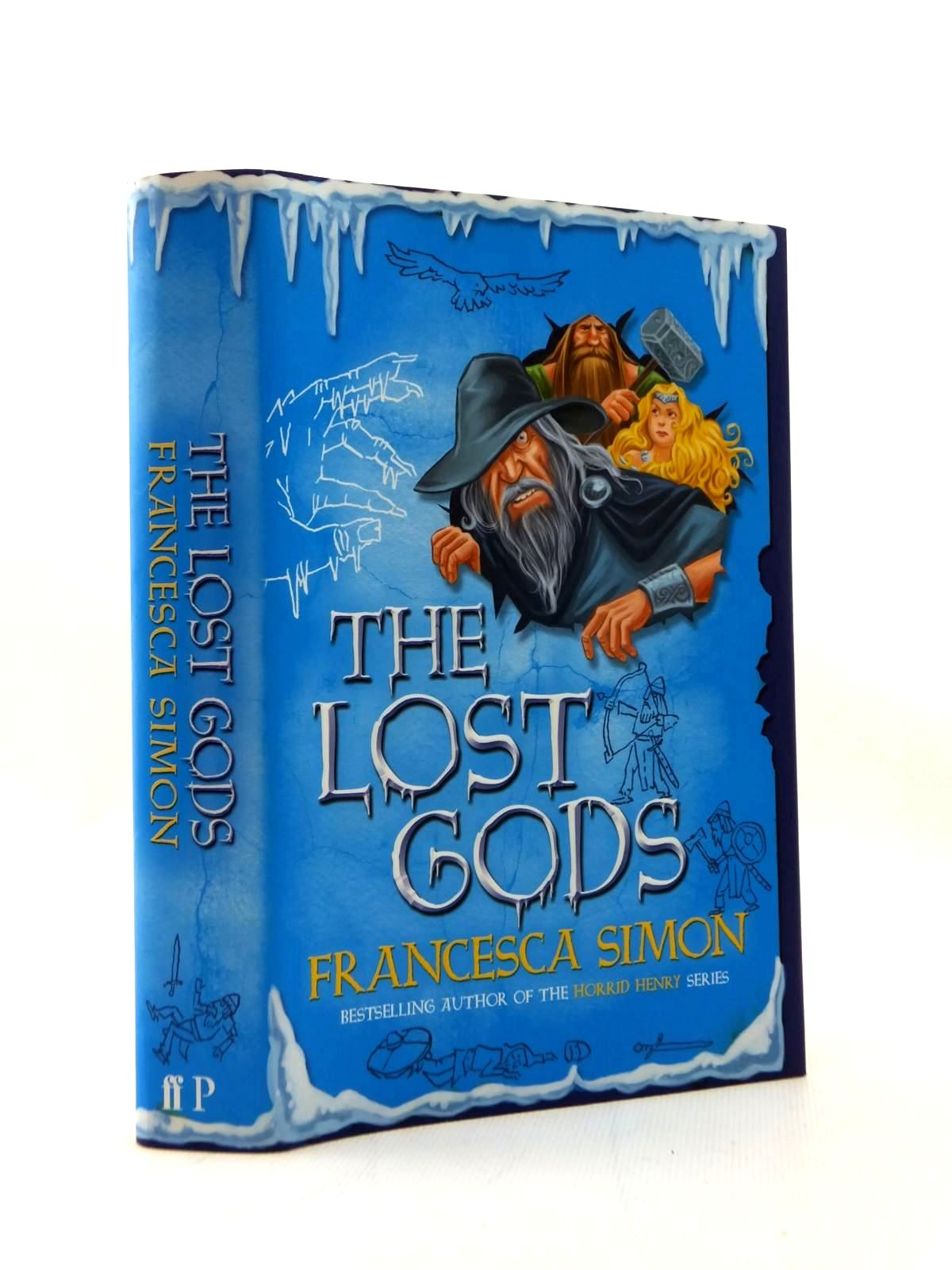 Photo of THE LOST GODS written by Simon, Francesca illustrated by Stower, Adam published by Faber & Faber, Profile Books (STOCK CODE: 2123399)  for sale by Stella & Rose's Books