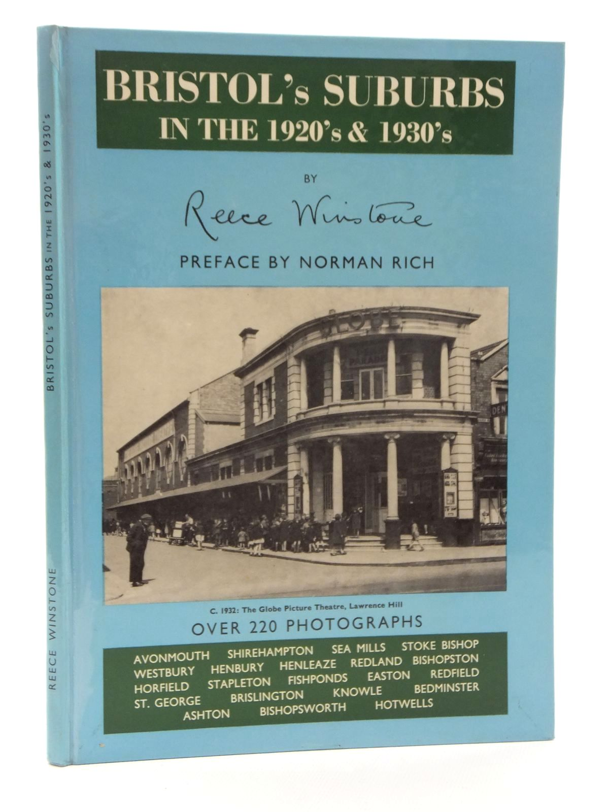 Photo of BRISTOL'S SUBURBS IN THE 1920'S & 1930'S written by Winstone, Reece published by Reece Winstone (STOCK CODE: 2123429)  for sale by Stella & Rose's Books