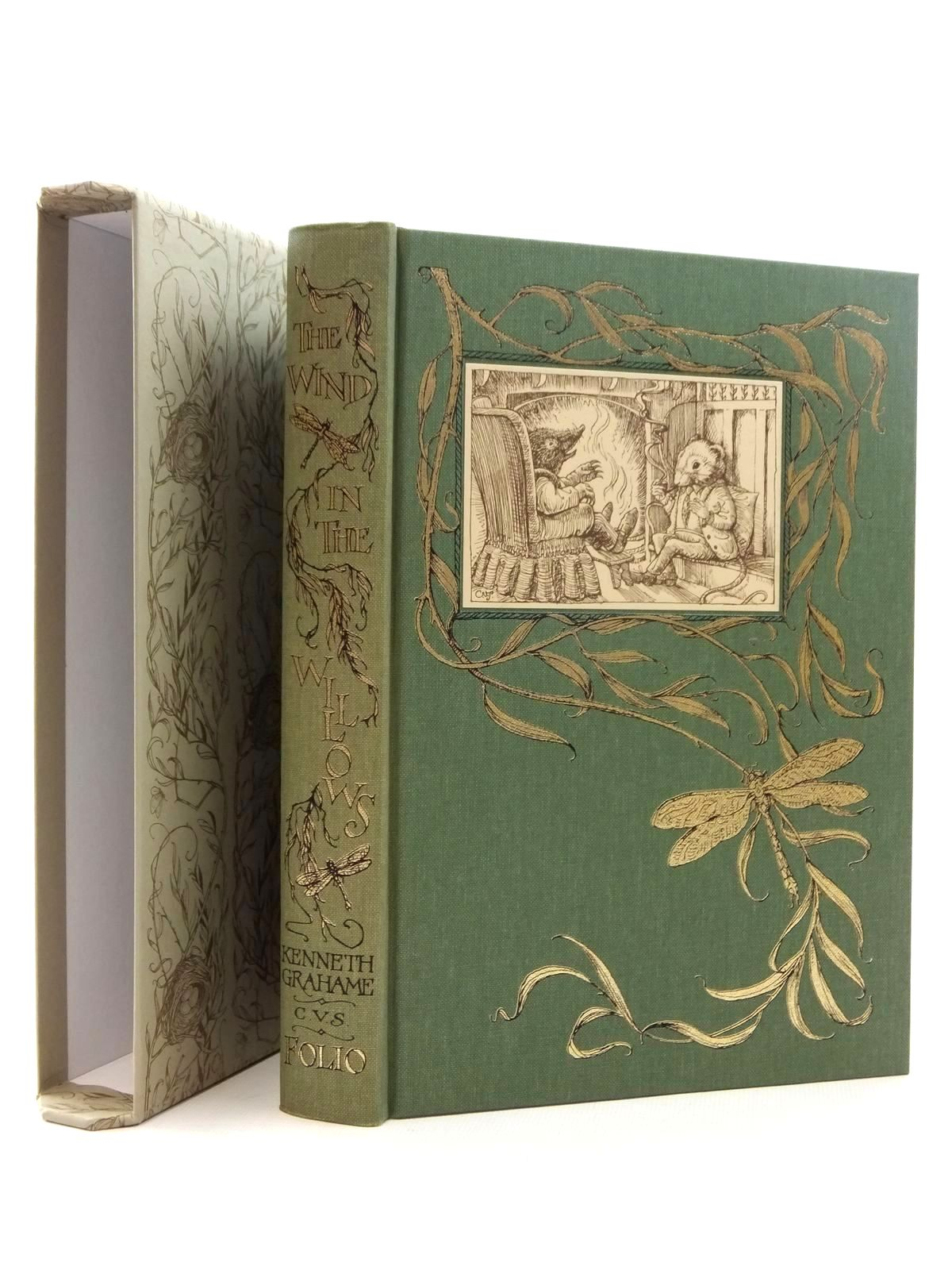 Photo of THE WIND IN THE WILLOWS written by Grahame, Kenneth illustrated by Van Sandwyk, Charles published by Folio Society (STOCK CODE: 2123437)  for sale by Stella & Rose's Books