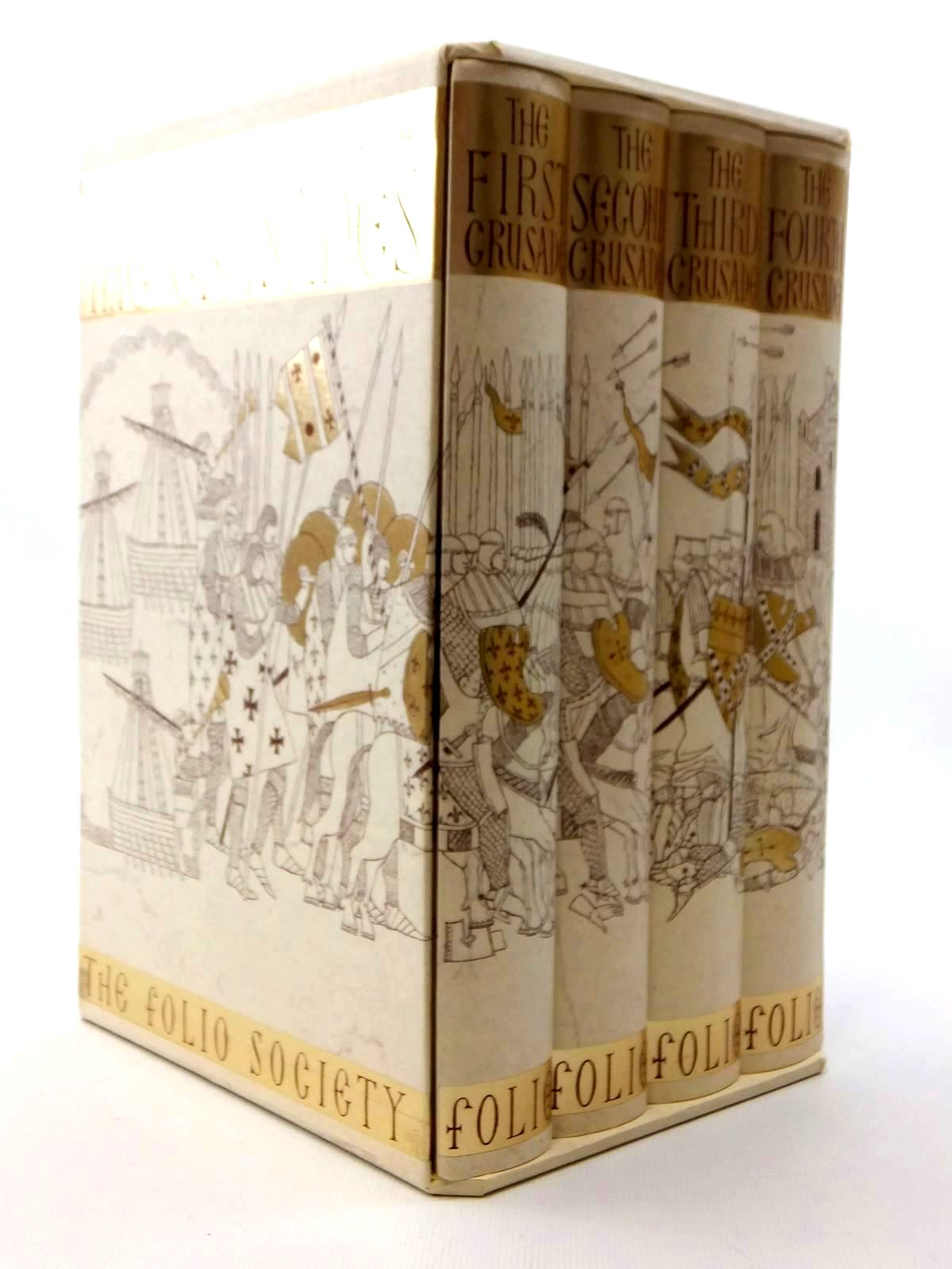 Photo of AN EYEWITNESS HISTORY OF THE CRUSADES (4 VOLUMES) written by Tyerman, Christopher published by Folio Society (STOCK CODE: 2123440)  for sale by Stella & Rose's Books