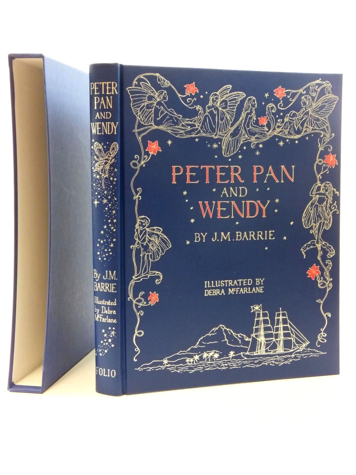 Photo of PETER PAN AND WENDY written by Barrie, J.M. illustrated by Mcfarlane, Debra published by Folio Society (STOCK CODE: 2123441)  for sale by Stella & Rose's Books