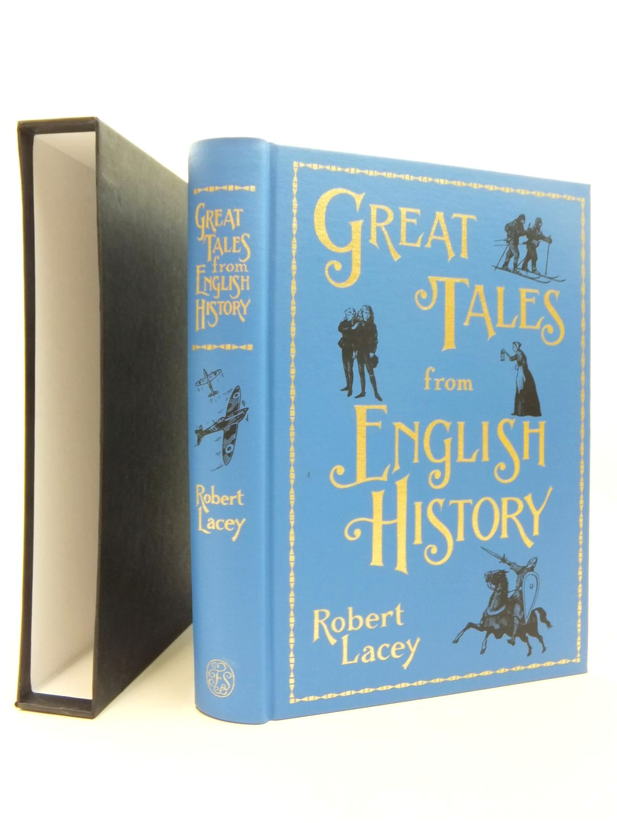 Photo of GREAT TALES FROM ENGLISH HISTORY written by Lacey, Robert published by Folio Society (STOCK CODE: 2123470)  for sale by Stella & Rose's Books