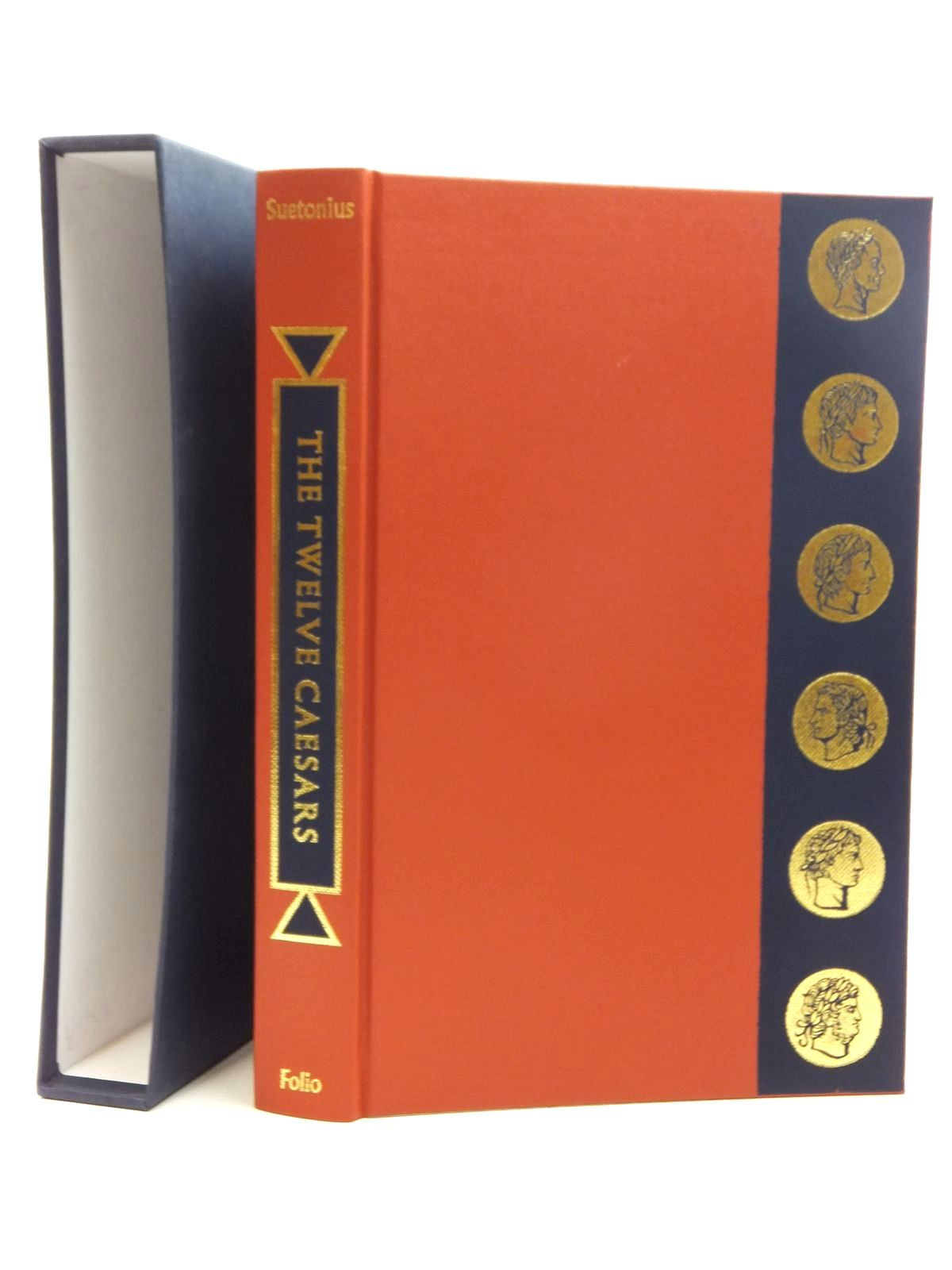 Photo of THE TWELVE CAESARS written by Tranquillus, Gaius Suetonius<br />Graves, Robert illustrated by Hawthorn, Raymond published by Folio Society (STOCK CODE: 2123483)  for sale by Stella & Rose's Books