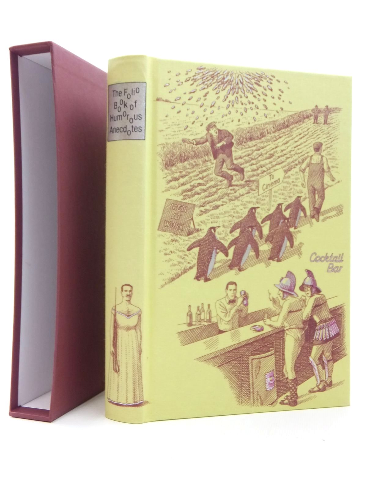 Photo of THE FOLIO BOOK OF HUMOROUS ANECDOTES written by Leeson, Edward illustrated by Hardcastle, Nick published by Folio Society (STOCK CODE: 2123491)  for sale by Stella & Rose's Books