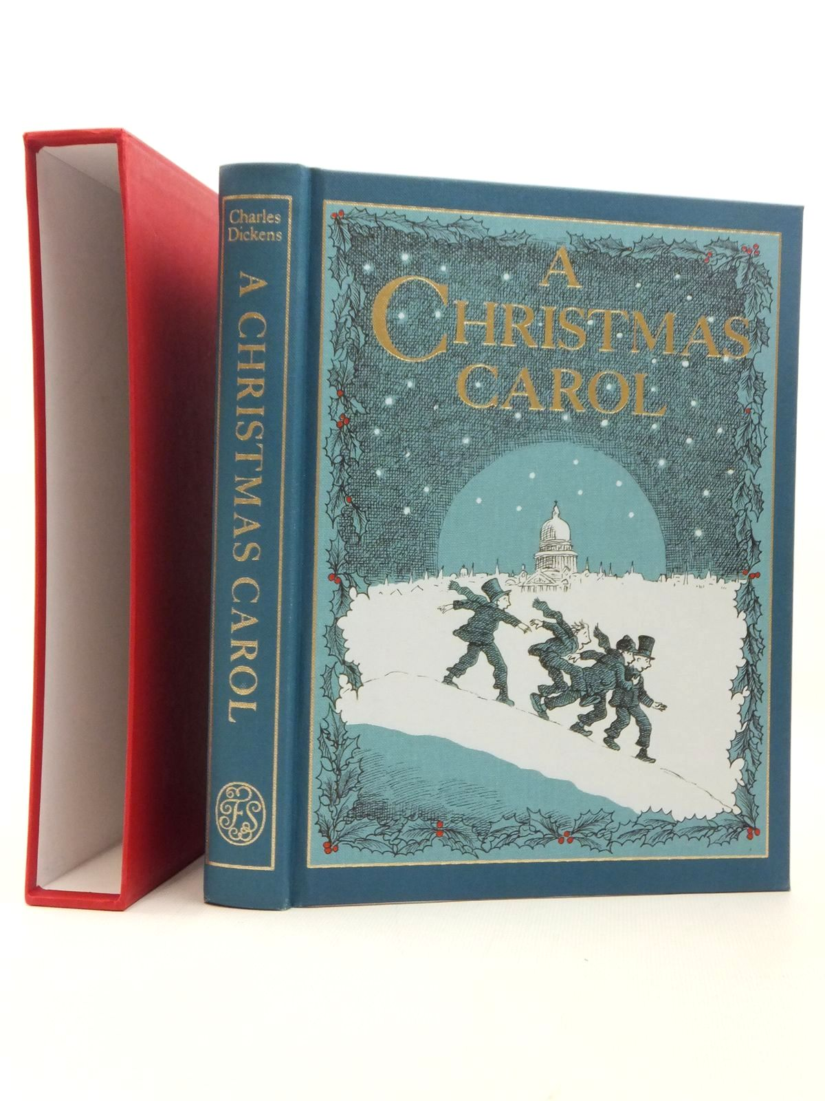 photo of a christmas carol written by dickens charles illustrated by foreman michael published - When Was A Christmas Carol Published