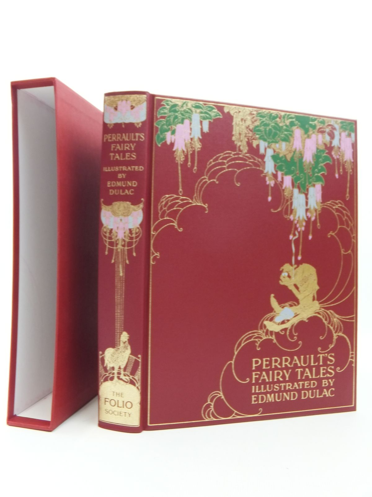 Photo of THE FAIRY TALES OF CHARLES PERRAULT written by Perrault, Charles illustrated by Dulac, Edmund published by Folio Society (STOCK CODE: 2123514)  for sale by Stella & Rose's Books