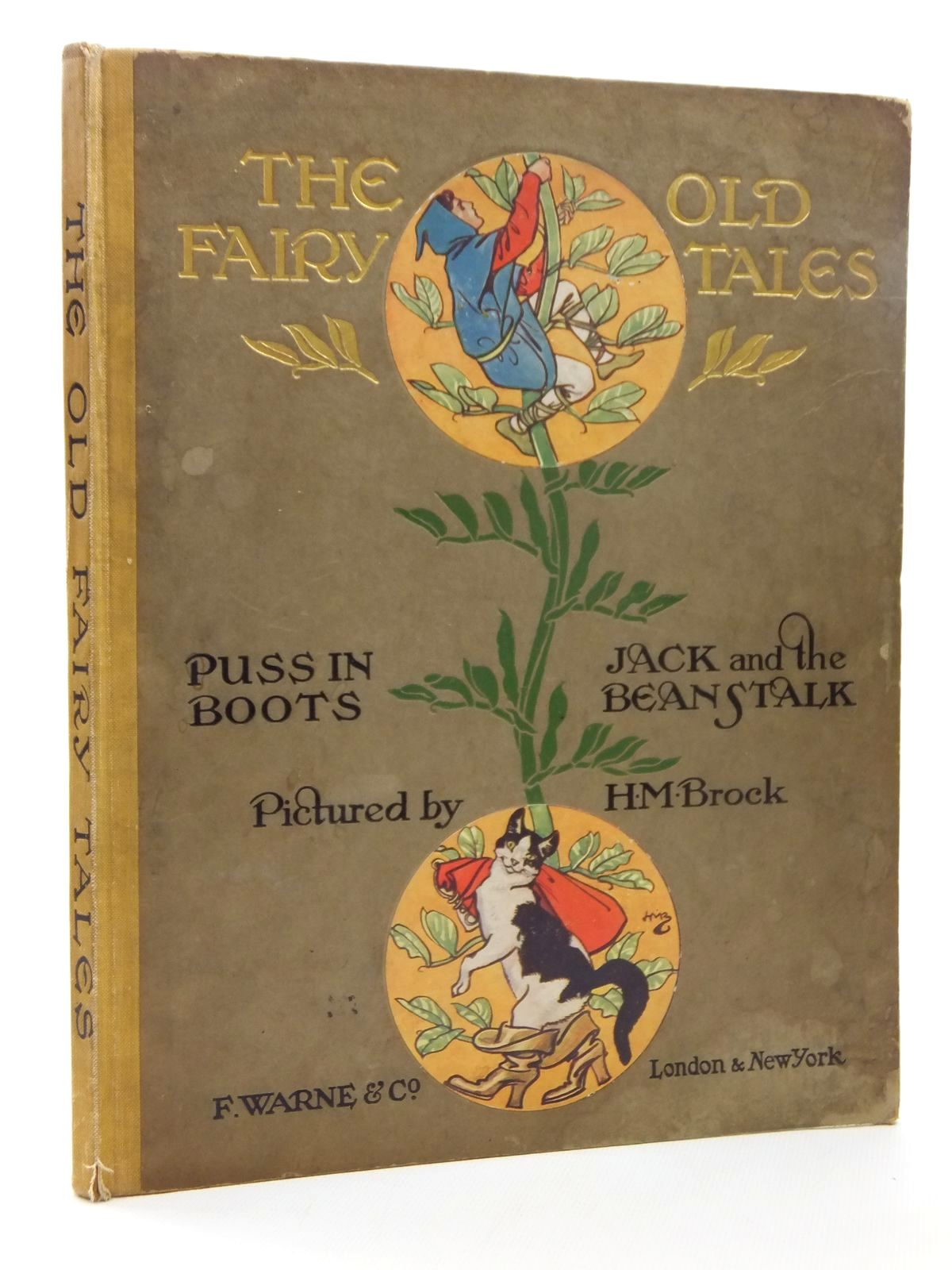 Photo of THE OLD FAIRY TALES illustrated by Brock, H.M. published by Frederick Warne & Co. (STOCK CODE: 2123523)  for sale by Stella & Rose's Books