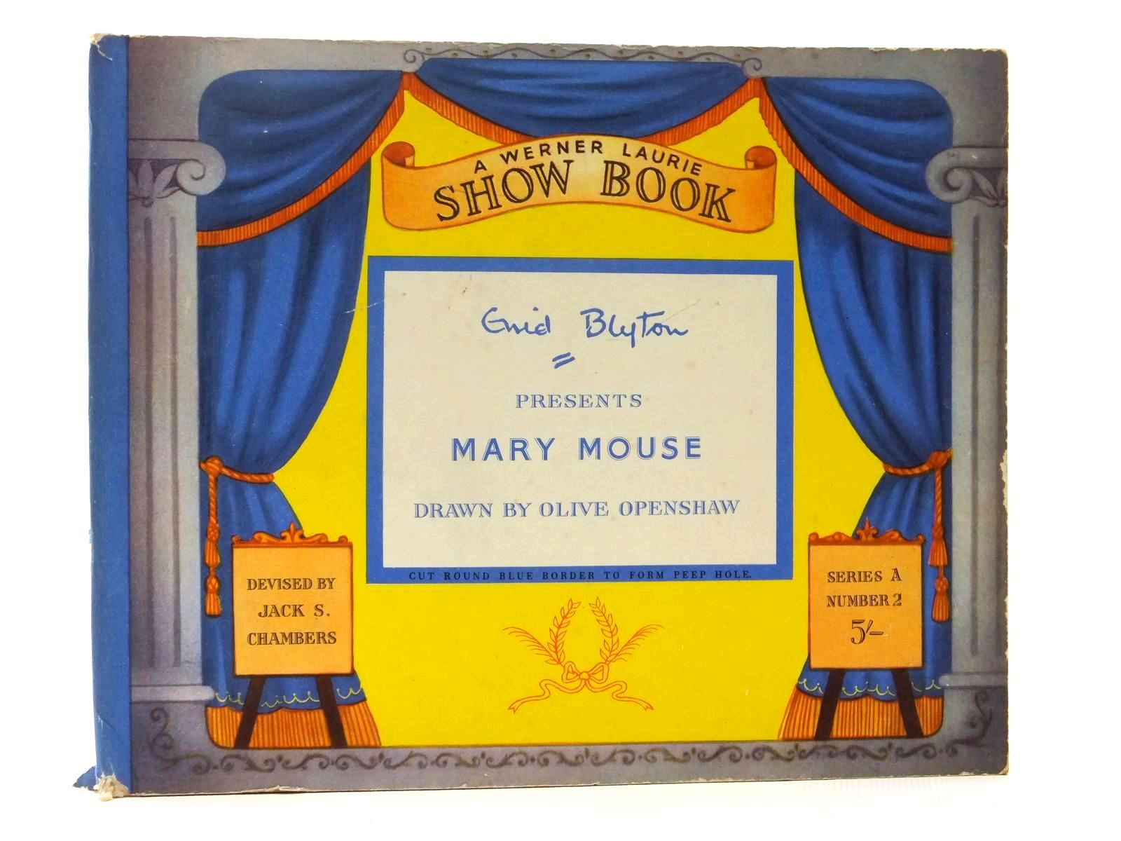 Photo of ENID BLYTON PRESENTS MARY MOUSE written by Blyton, Enid illustrated by Openshaw, Olive F. published by T. Werner Laurie Ltd. (STOCK CODE: 2123534)  for sale by Stella & Rose's Books