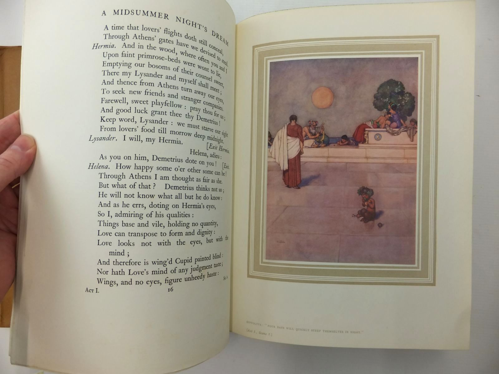 Photo of A MIDSUMMER NIGHTS DREAM written by Shakespeare, William illustrated by Robinson, W. Heath published by Constable and Company Ltd. (STOCK CODE: 2123538)  for sale by Stella & Rose's Books