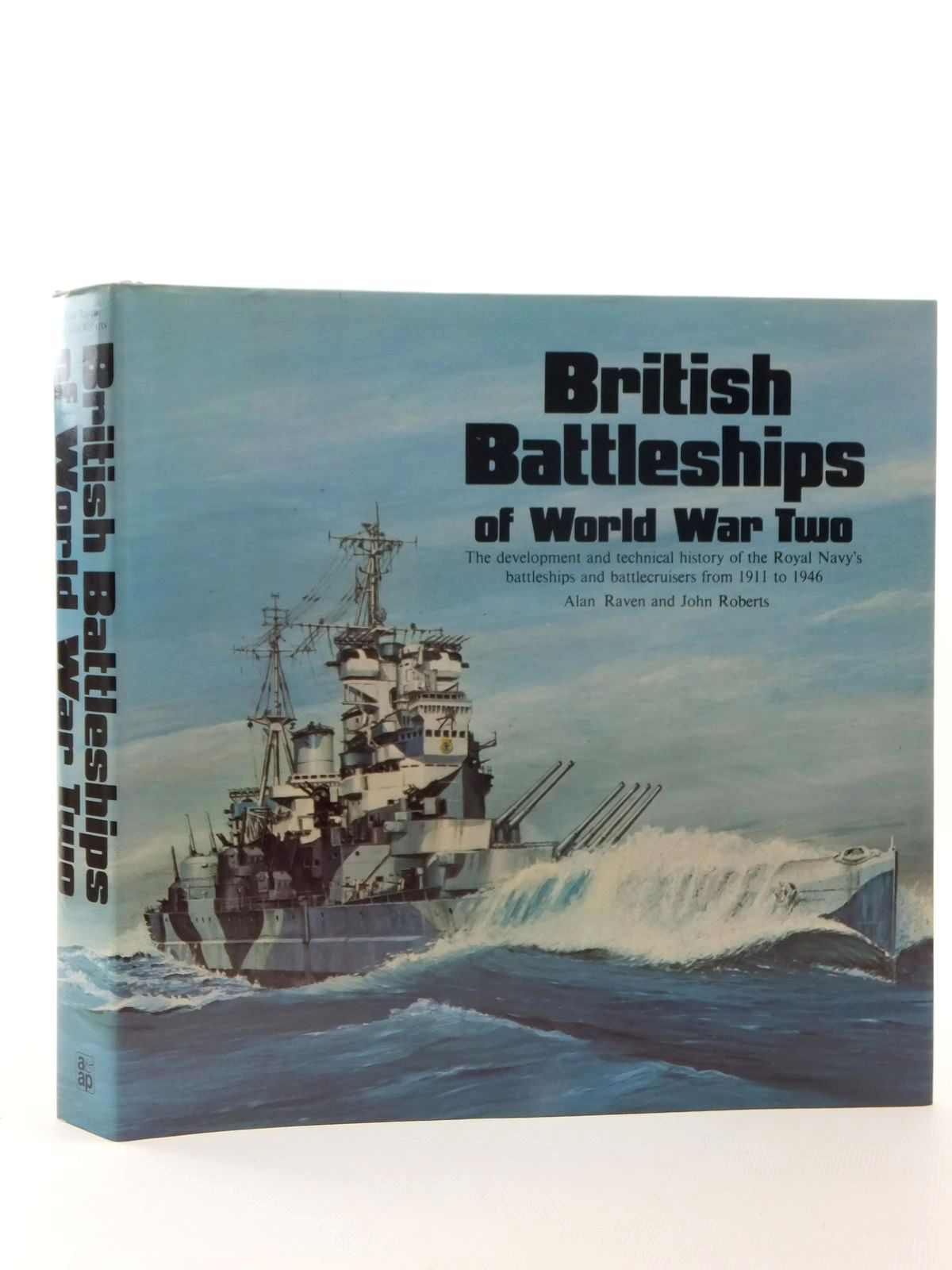 Photo of BRITISH BATTLESHIPS OF WORLD WAR TWO written by Raven, Alan<br />Roberts, John published by Arms & Armour Press (STOCK CODE: 2123557)  for sale by Stella & Rose's Books