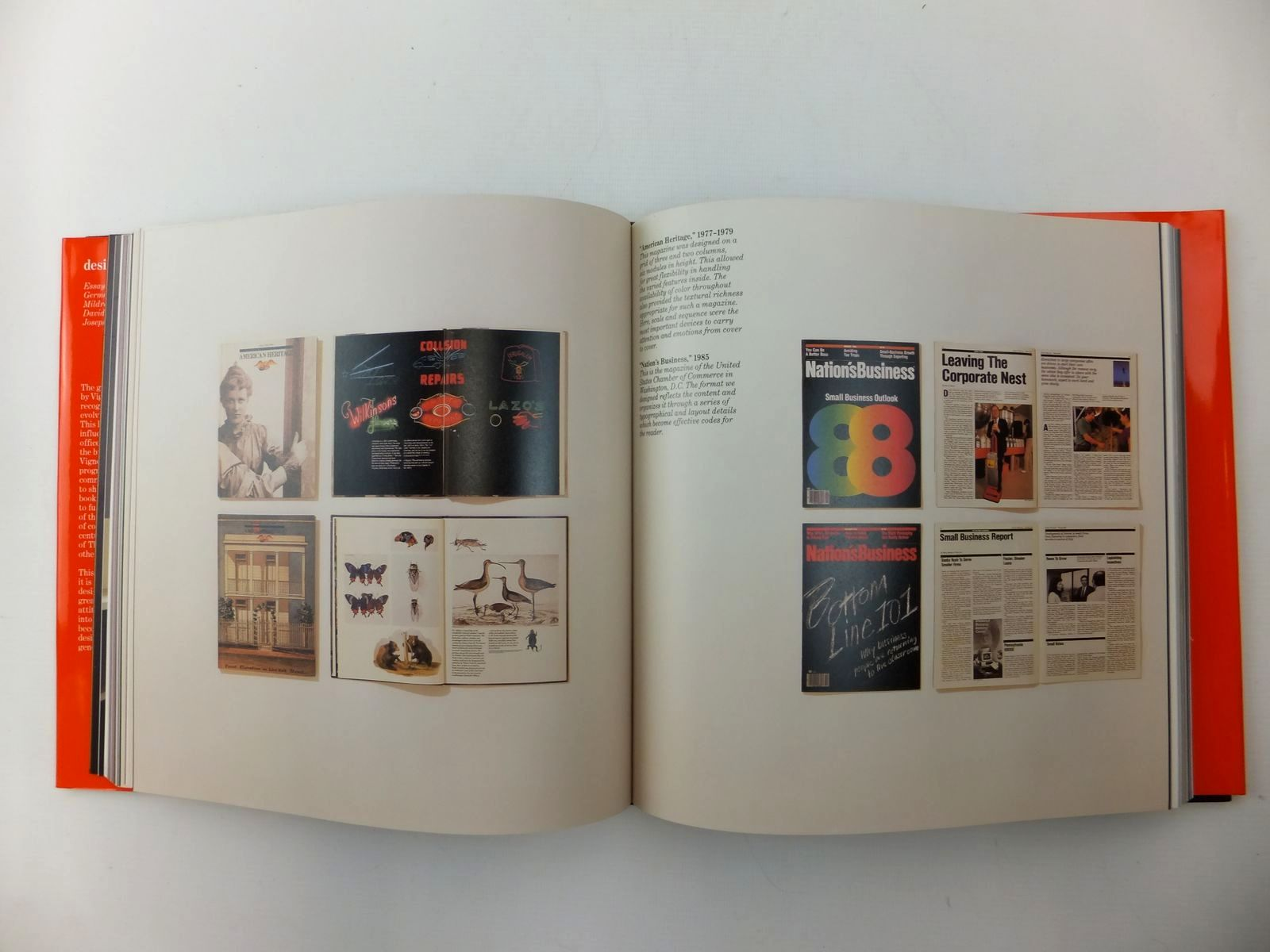 Photo of DESIGN: VIGNELLI written by Celant, Germano<br />McFadden, David Revere<br />et al, published by Rizzoli International Publications (STOCK CODE: 2123629)  for sale by Stella & Rose's Books