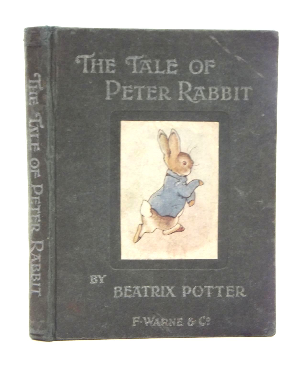 Photo of THE TALE OF PETER RABBIT written by Potter, Beatrix illustrated by Potter, Beatrix published by Frederick Warne & Co. (STOCK CODE: 2123643)  for sale by Stella & Rose's Books