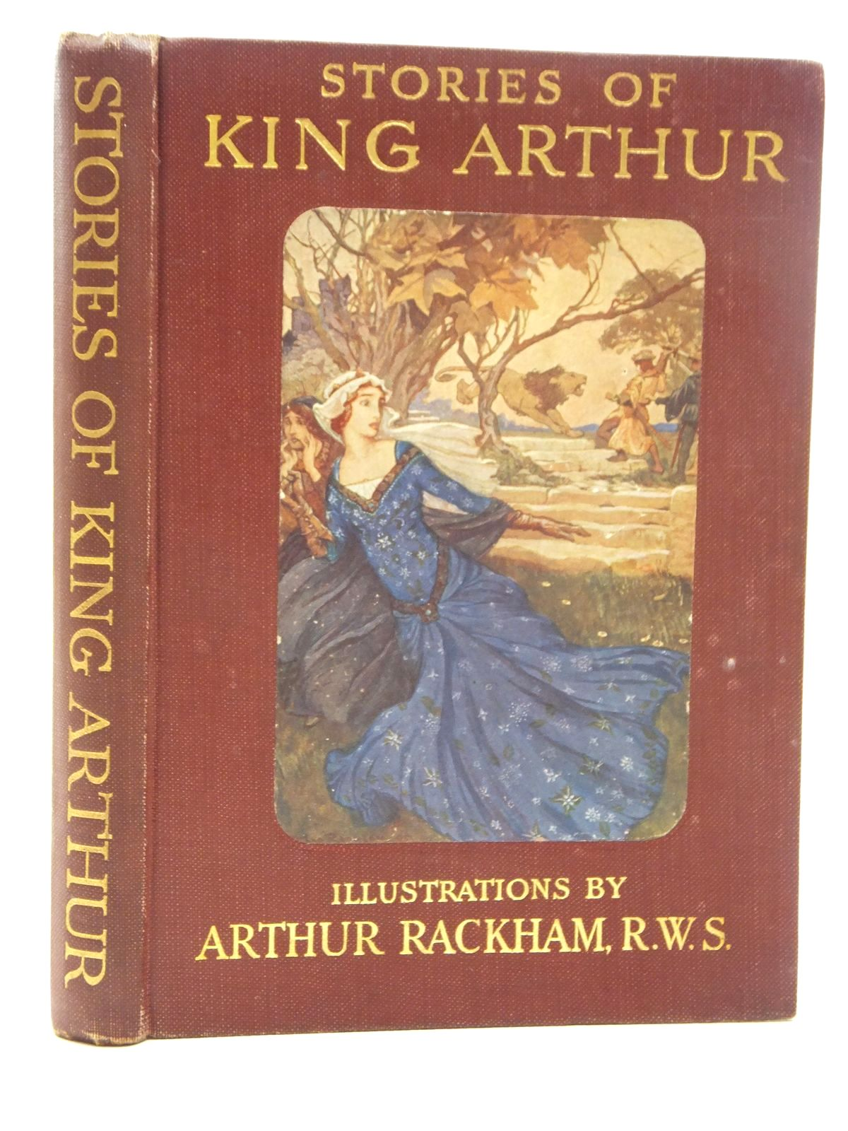 Photo of STORIES OF KING ARTHUR written by Haydon, A.L. illustrated by Rackham, Arthur published by Cassell & Company Ltd (STOCK CODE: 2123648)  for sale by Stella & Rose's Books