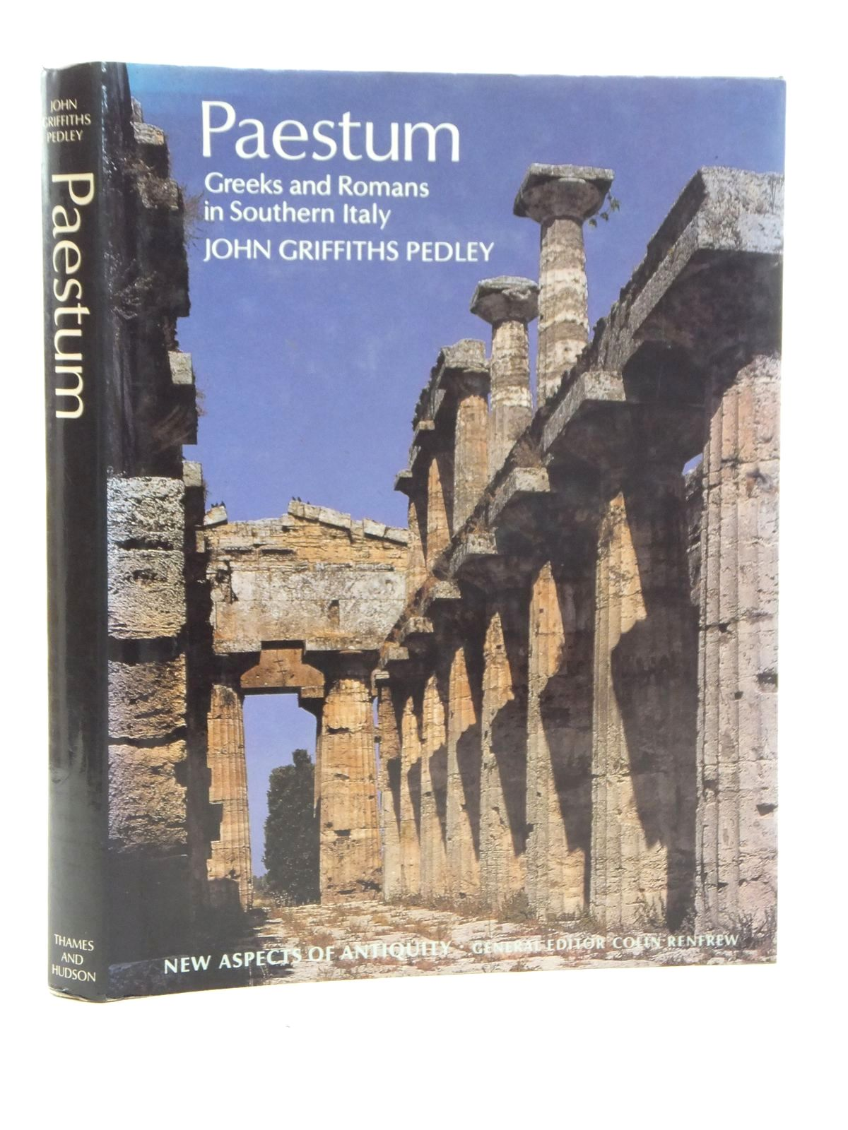 Photo of PAESTUM GREEKS AND ROMANS IN SOUTHERN ITALY written by Pedley, John Griffiths published by Thames and Hudson (STOCK CODE: 2123670)  for sale by Stella & Rose's Books