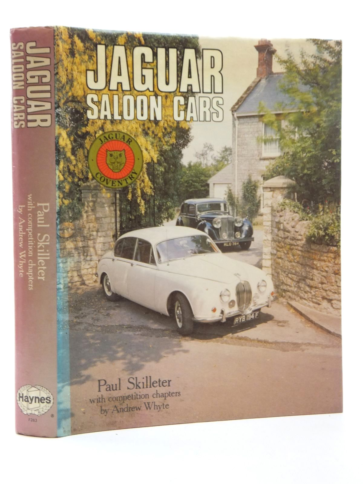 Photo of JAGUAR SALOON CARS written by Skilleter, Paul<br />Whyte, Andrew published by Haynes Publishing Group (STOCK CODE: 2123674)  for sale by Stella & Rose's Books
