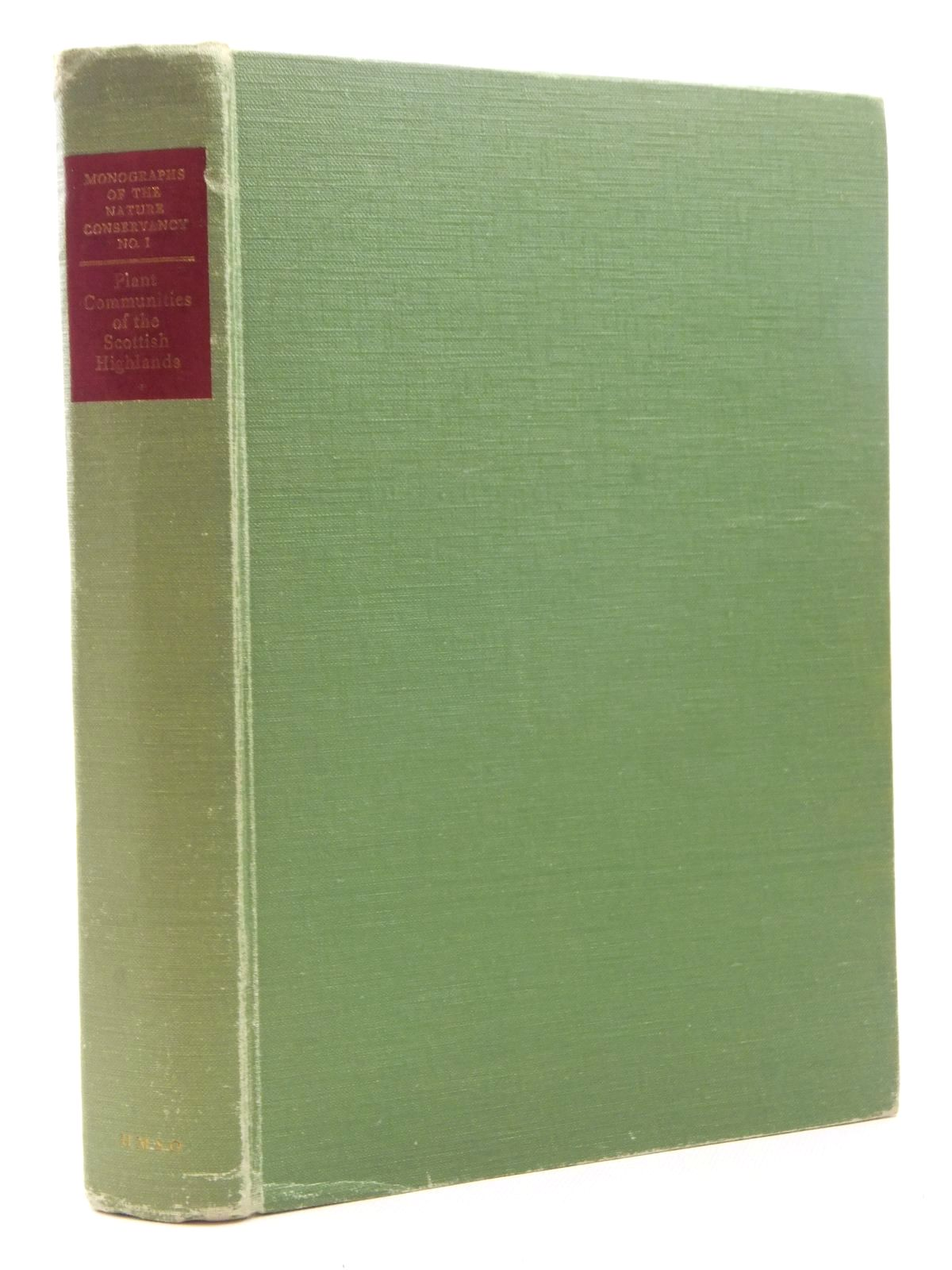 Photo of PLANT COMMUNITIES OF THE SCOTTISH HIGHLANDS written by McVean, Donald N.<br />Ratcliffe, D.A. published by HMSO (STOCK CODE: 2123682)  for sale by Stella & Rose's Books