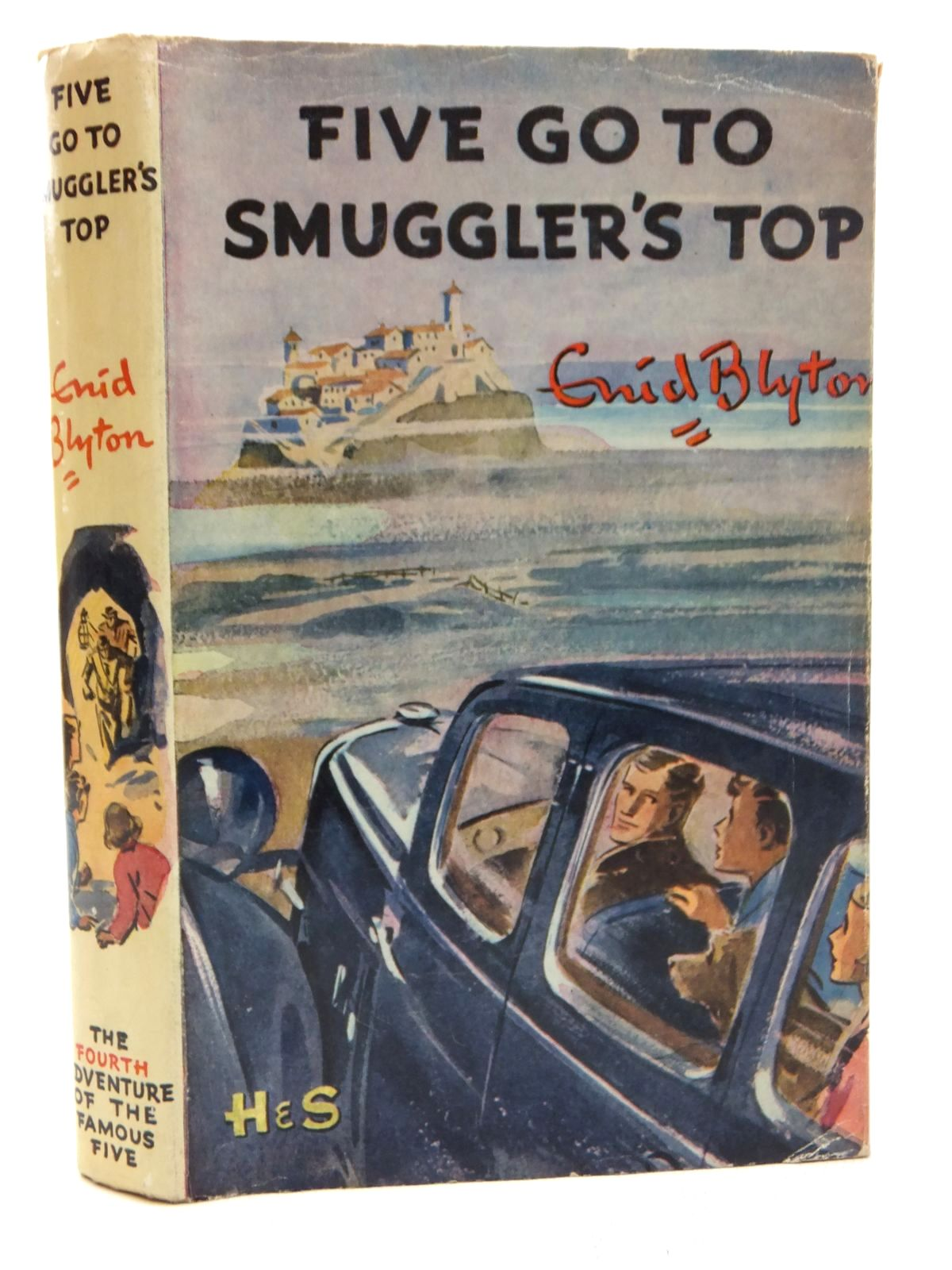 Photo of FIVE GO TO SMUGGLER'S TOP written by Blyton, Enid illustrated by Soper, Eileen published by Hodder & Stoughton (STOCK CODE: 2123688)  for sale by Stella & Rose's Books