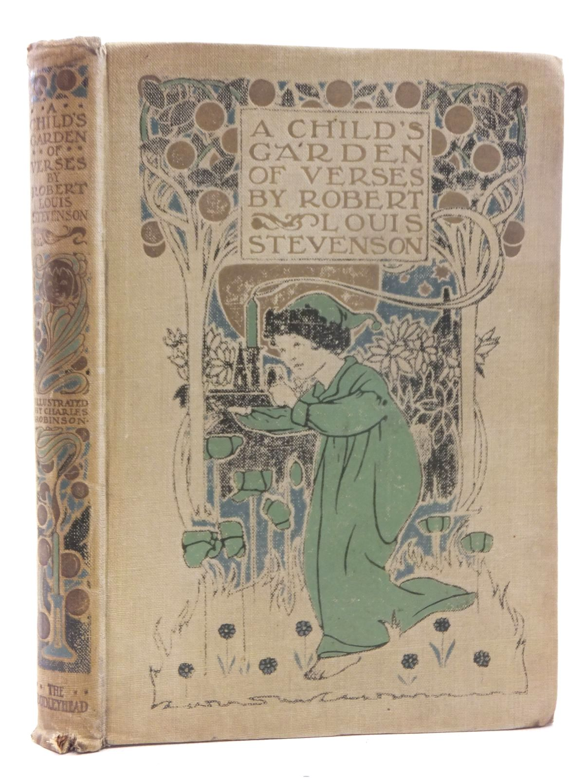 Photo of A CHILD'S GARDEN OF VERSES written by Stevenson, Robert Louis illustrated by Robinson, Charles published by John Lane The Bodley Head (STOCK CODE: 2123709)  for sale by Stella & Rose's Books