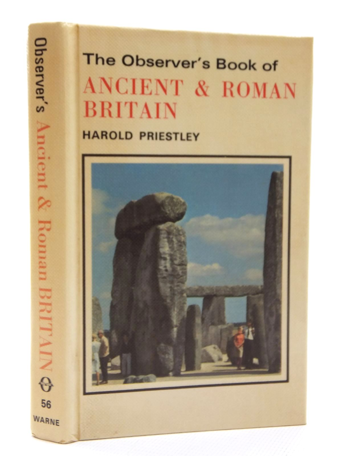 Photo of THE OBSERVER'S BOOK OF ANCIENT AND ROMAN BRITAIN written by Priestley, Harold published by Frederick Warne (STOCK CODE: 2123735)  for sale by Stella & Rose's Books