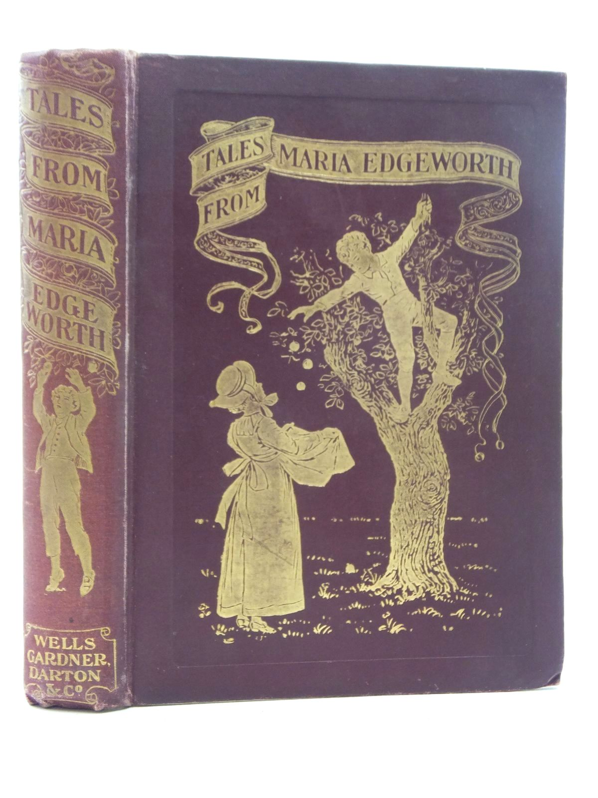 Photo of TALES FROM MARIA EDGEWORTH written by Edgeworth, Maria illustrated by Thomson, Hugh published by Wells Gardner, Darton & Co. Limited (STOCK CODE: 2123751)  for sale by Stella & Rose's Books