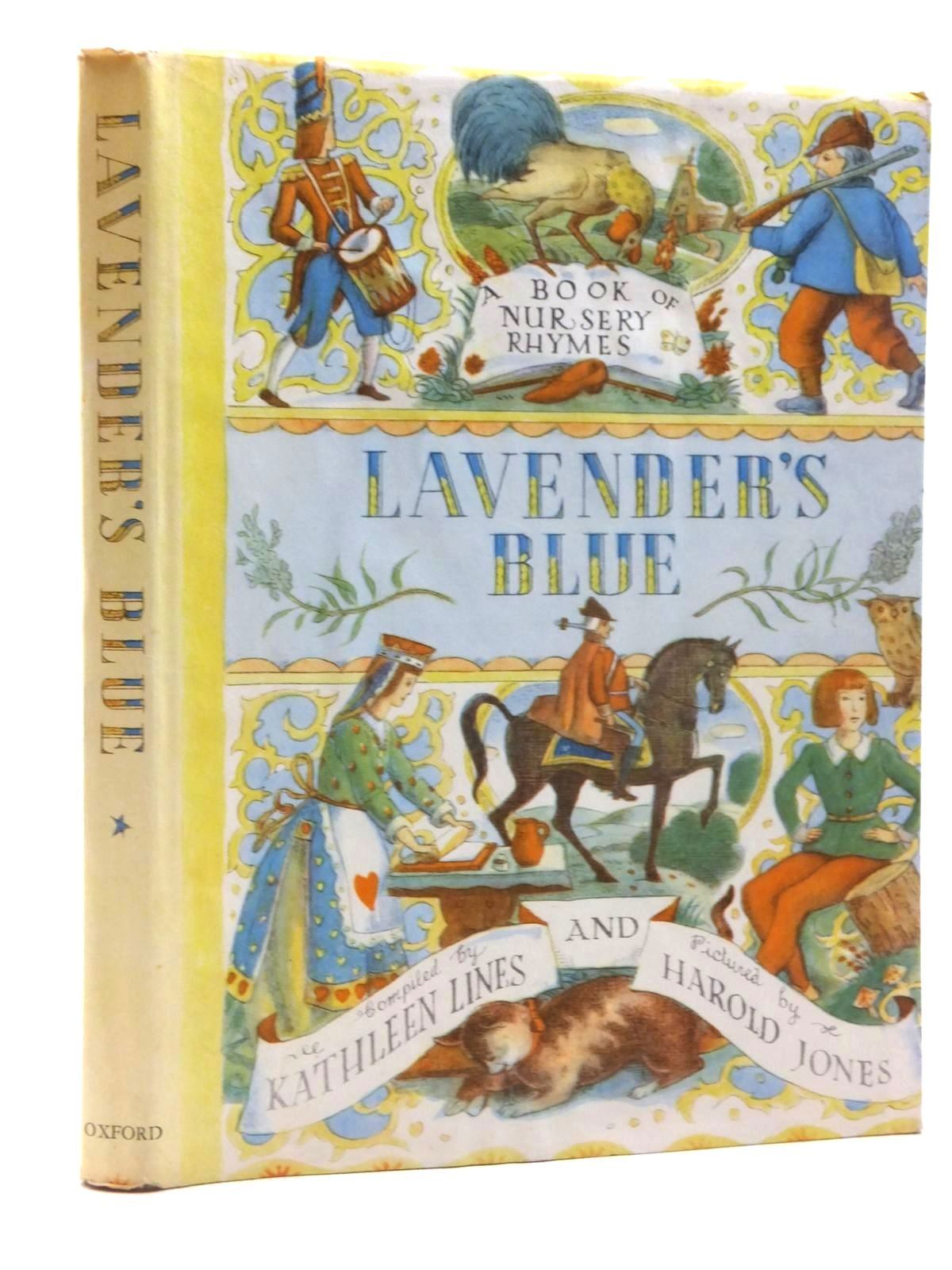 Photo of LAVENDER'S BLUE written by Lines, Kathleen illustrated by Jones, Harold published by Oxford University Press (STOCK CODE: 2123781)  for sale by Stella & Rose's Books