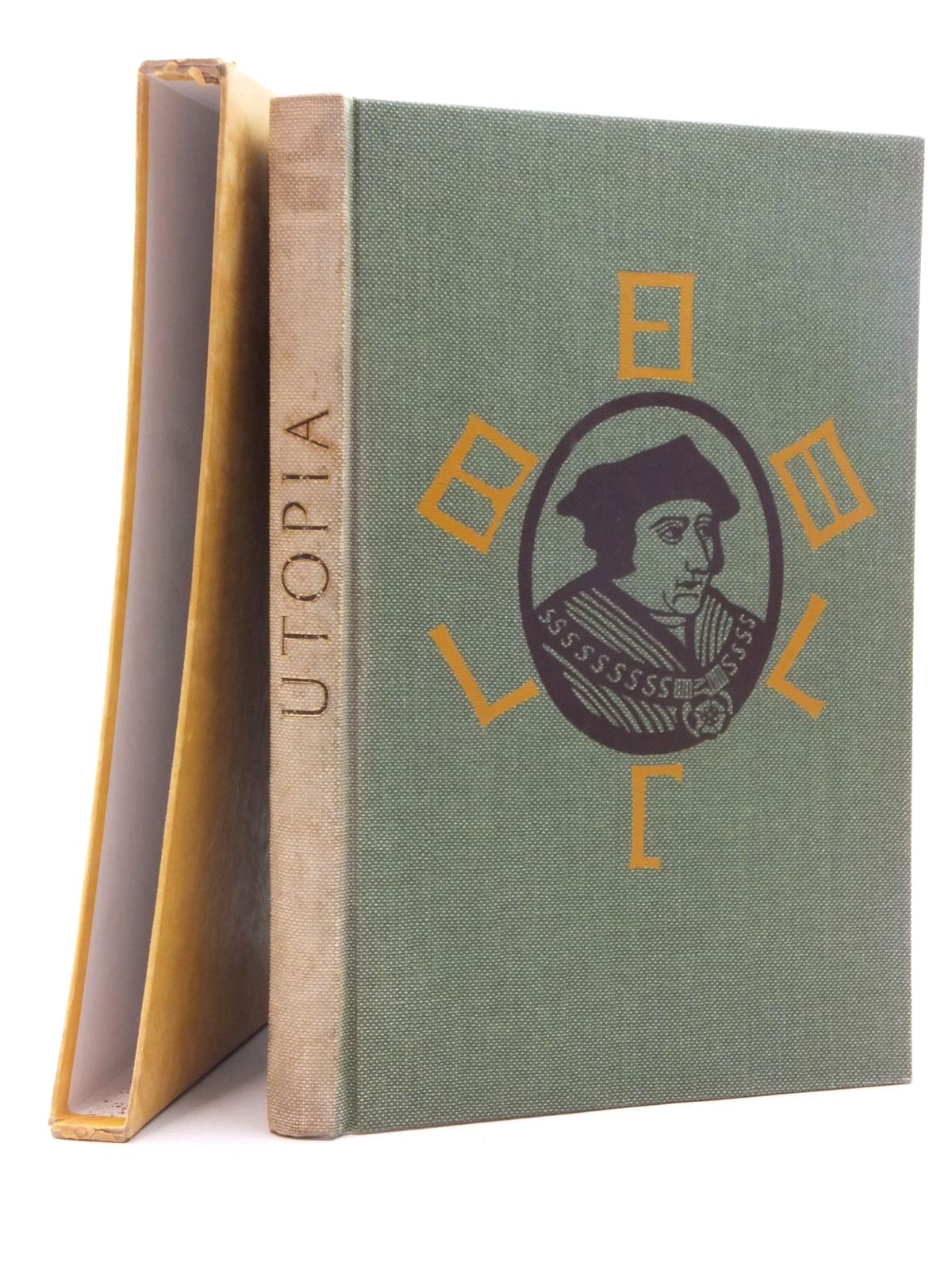 Photo of UTOPIA written by More, Thomas illustrated by Bawden, Edward published by Folio Society (STOCK CODE: 2123786)  for sale by Stella & Rose's Books