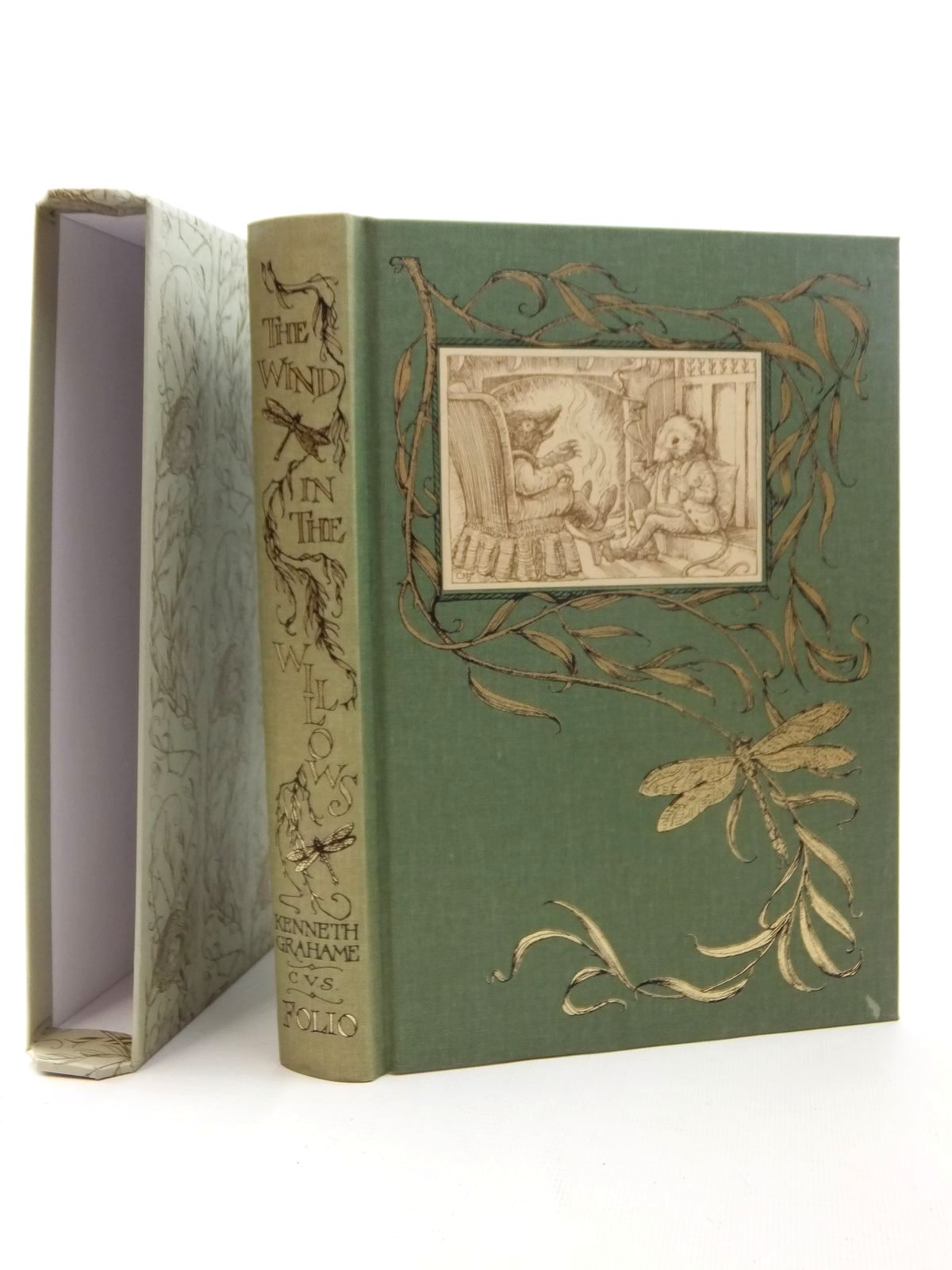 Photo of THE WIND IN THE WILLOWS written by Grahame, Kenneth illustrated by Van Sandwyk, Charles published by Folio Society (STOCK CODE: 2123815)  for sale by Stella & Rose's Books