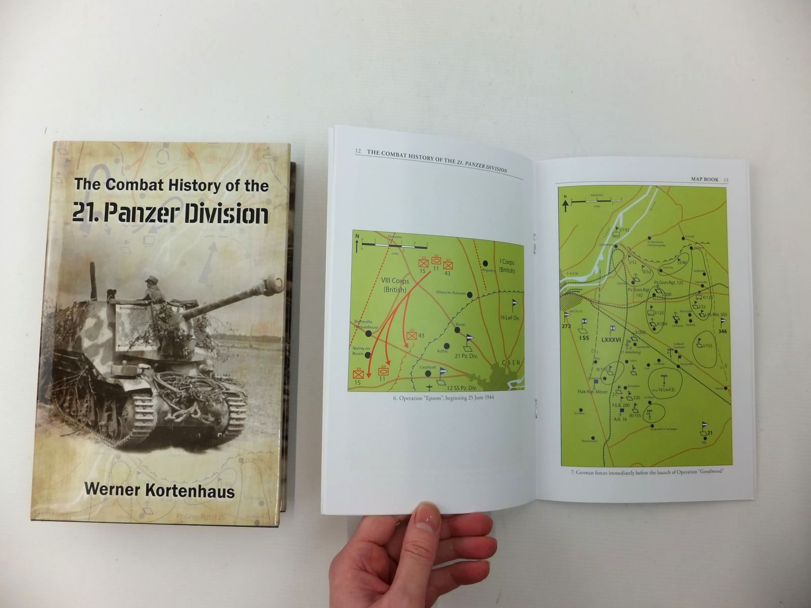 Photo of THE COMBAT HISTORY OF THE 21. PANZER DIVISION (2 VOLUMES) written by Kortenhaus, Werner published by Helion & Company (STOCK CODE: 2123841)  for sale by Stella & Rose's Books