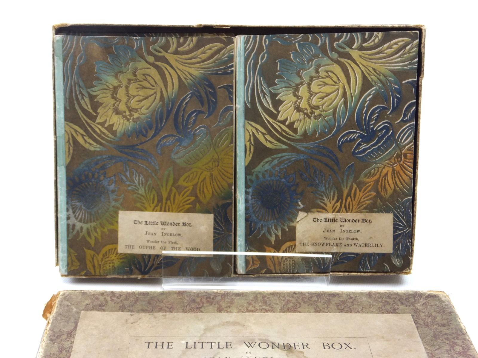 Photo of THE LITTLE WONDER BOX (6 VOLUMES) written by Ingelow, Jean published by Griffith, Farran, Okeden & Welsh (STOCK CODE: 2123844)  for sale by Stella & Rose's Books