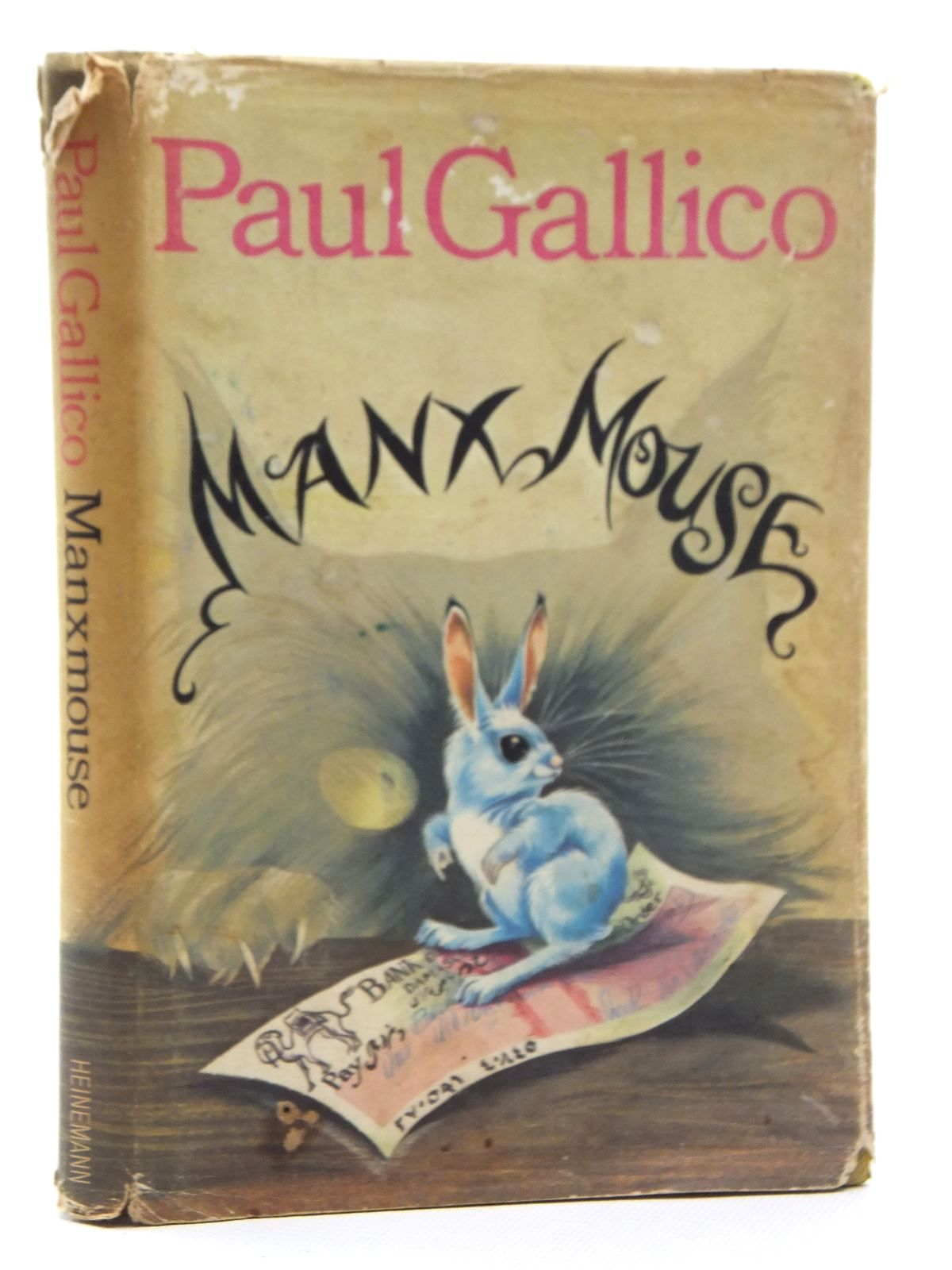 Photo of MANXMOUSE written by Gallico, Paul illustrated by Johnstone, Janet Grahame<br />Johnstone, Anne Grahame published by Heinemann (STOCK CODE: 2123863)  for sale by Stella & Rose's Books