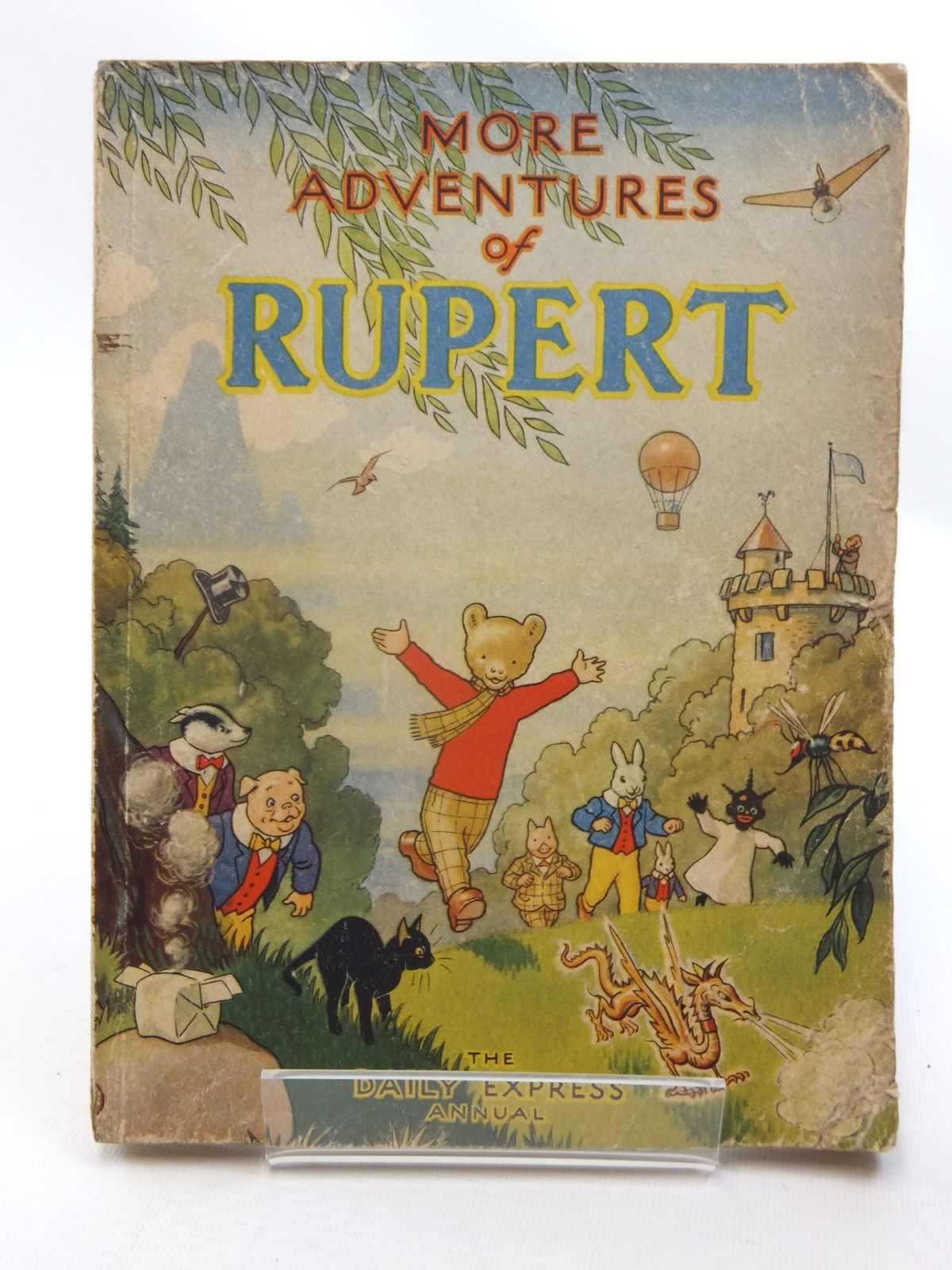 Photo of RUPERT ANNUAL 1947 - MORE ADVENTURES OF RUPERT written by Bestall, Alfred illustrated by Bestall, Alfred published by Daily Express (STOCK CODE: 2123939)  for sale by Stella & Rose's Books