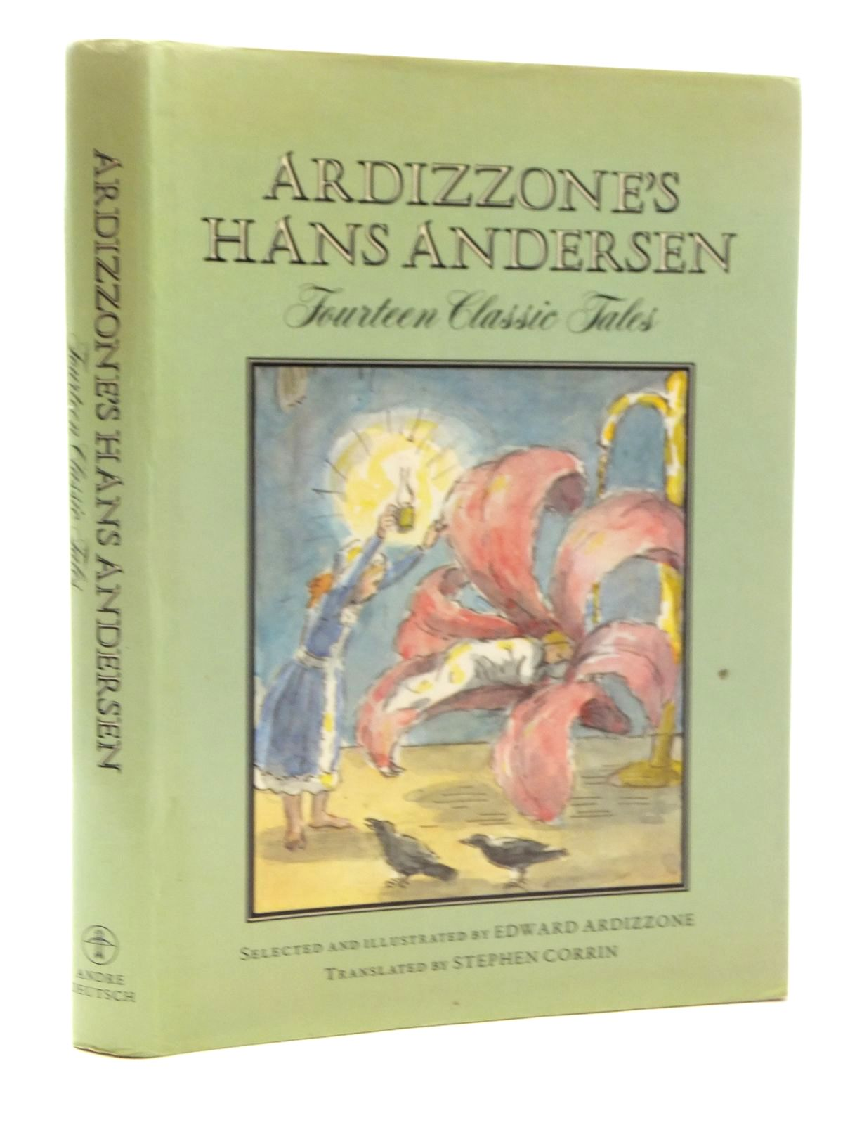 Photo of ARDIZZONE'S HANS ANDERSEN written by Andersen, Hans Christian<br />Corrin, Stephen illustrated by Ardizzone, Edward published by Andre Deutsch (STOCK CODE: 2123965)  for sale by Stella & Rose's Books