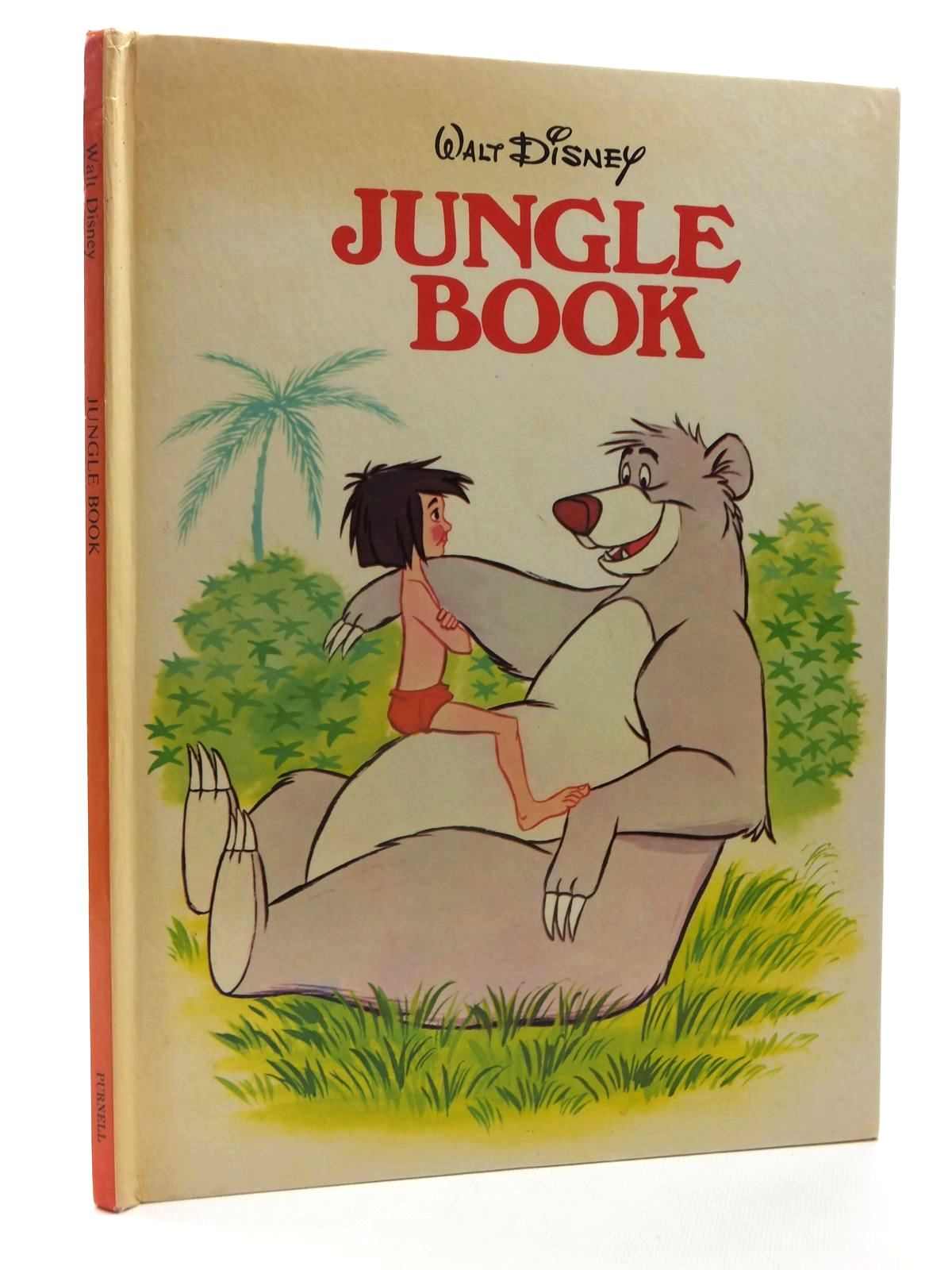 Photo of WALT DISNEY JUNGLE BOOK written by Disney, Walt<br />Kipling, Rudyard published by Purnell (STOCK CODE: 2124018)  for sale by Stella & Rose's Books