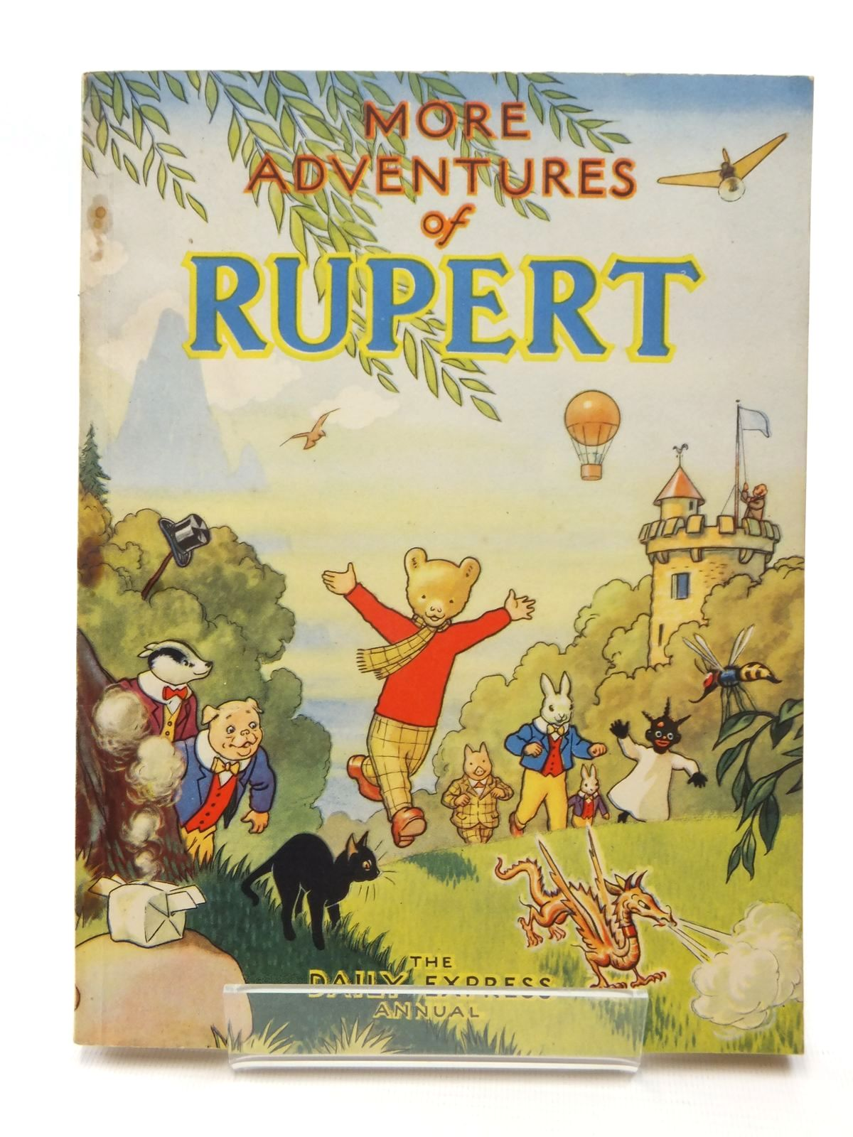 Photo of RUPERT ANNUAL 1947 - MORE ADVENTURES OF RUPERT written by Bestall, Alfred illustrated by Bestall, Alfred published by Daily Express (STOCK CODE: 2124044)  for sale by Stella & Rose's Books