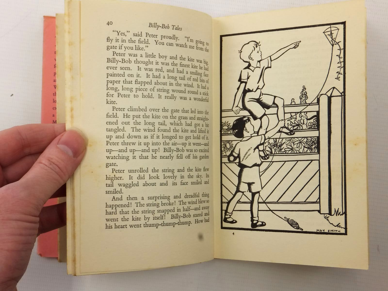 Photo of BILLY-BOB TALES written by Blyton, Enid illustrated by Smith, May published by Methuen & Co. Ltd. (STOCK CODE: 2124054)  for sale by Stella & Rose's Books