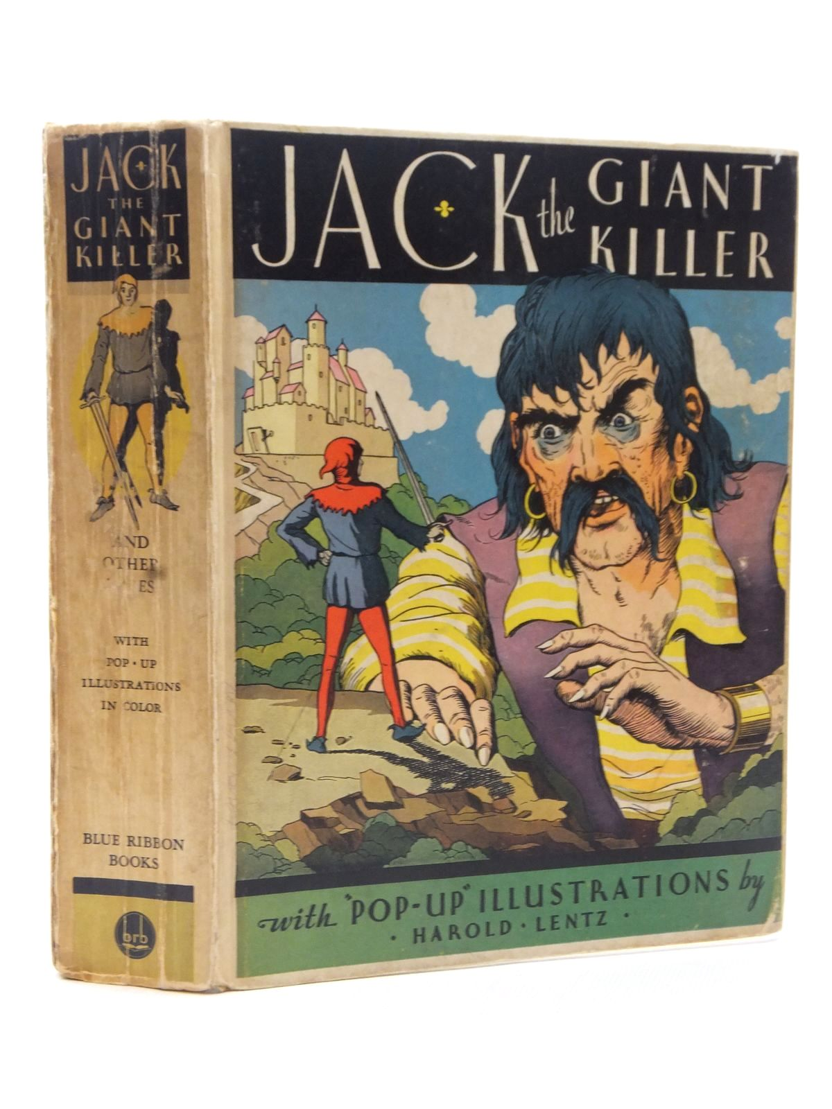 Photo of JACK THE GIANT KILLER AND OTHER TALES illustrated by Lentz, Harold published by Blue Ribbon Books (STOCK CODE: 2124059)  for sale by Stella & Rose's Books