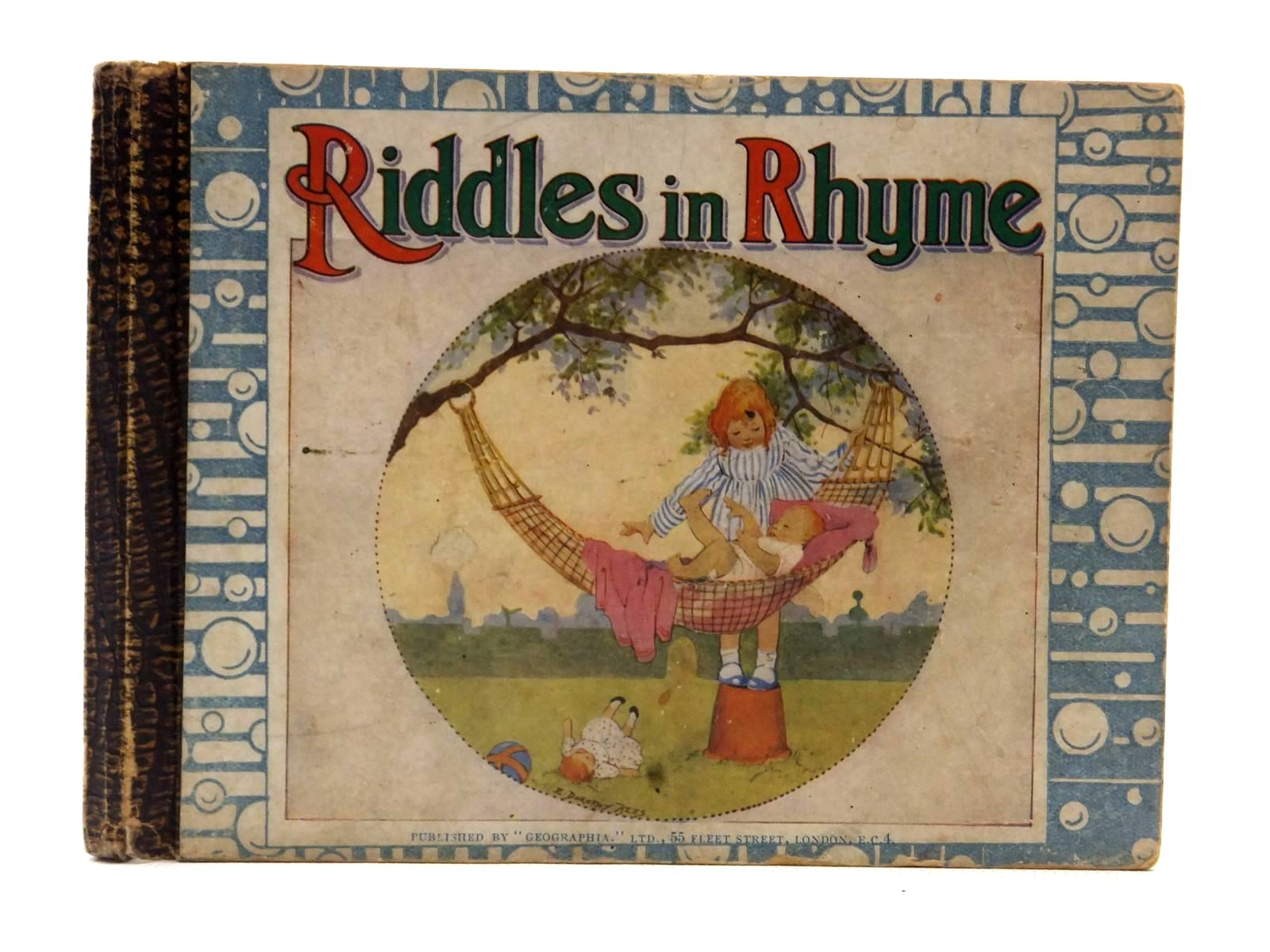 Photo of ORIGINAL RIDDLES IN RHYME illustrated by Rees, E. Dorothy published by Geographia Ltd. (STOCK CODE: 2124069)  for sale by Stella & Rose's Books