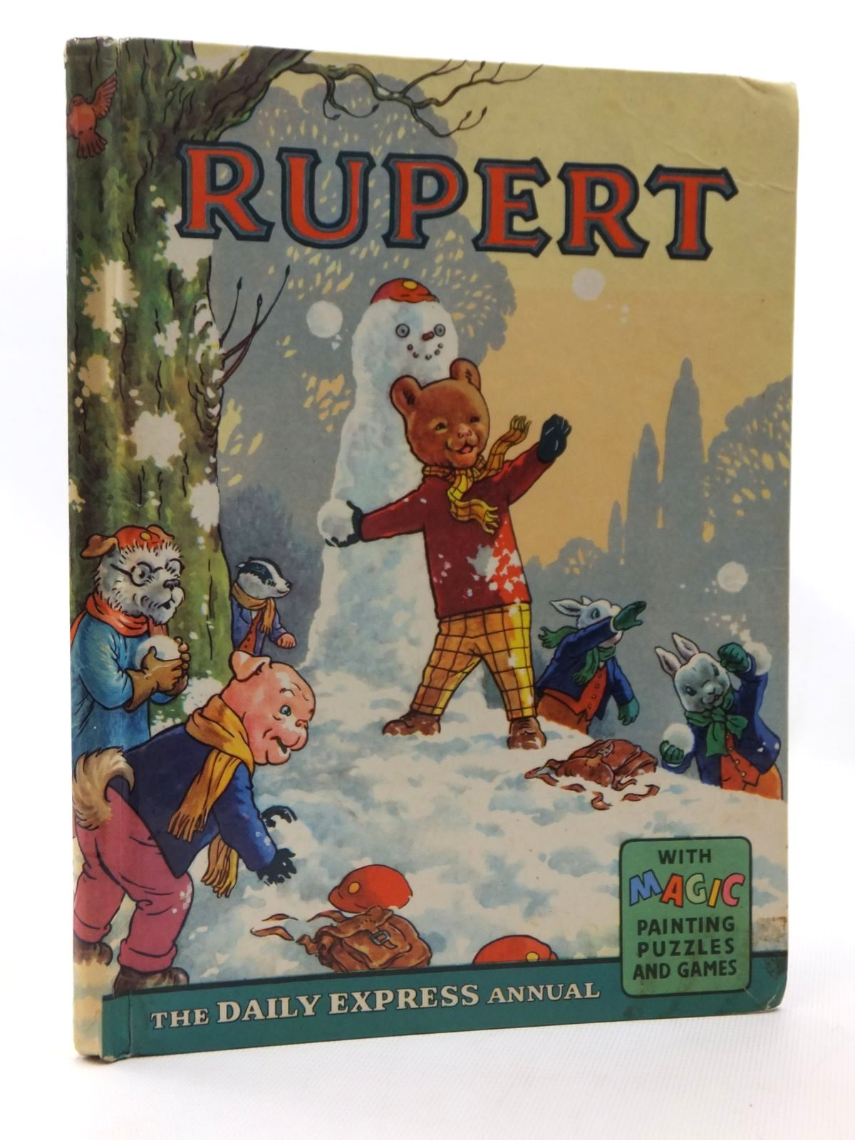 Photo of RUPERT ANNUAL 1962 written by Bestall, Alfred illustrated by Bestall, Alfred published by Daily Express (STOCK CODE: 2124086)  for sale by Stella & Rose's Books