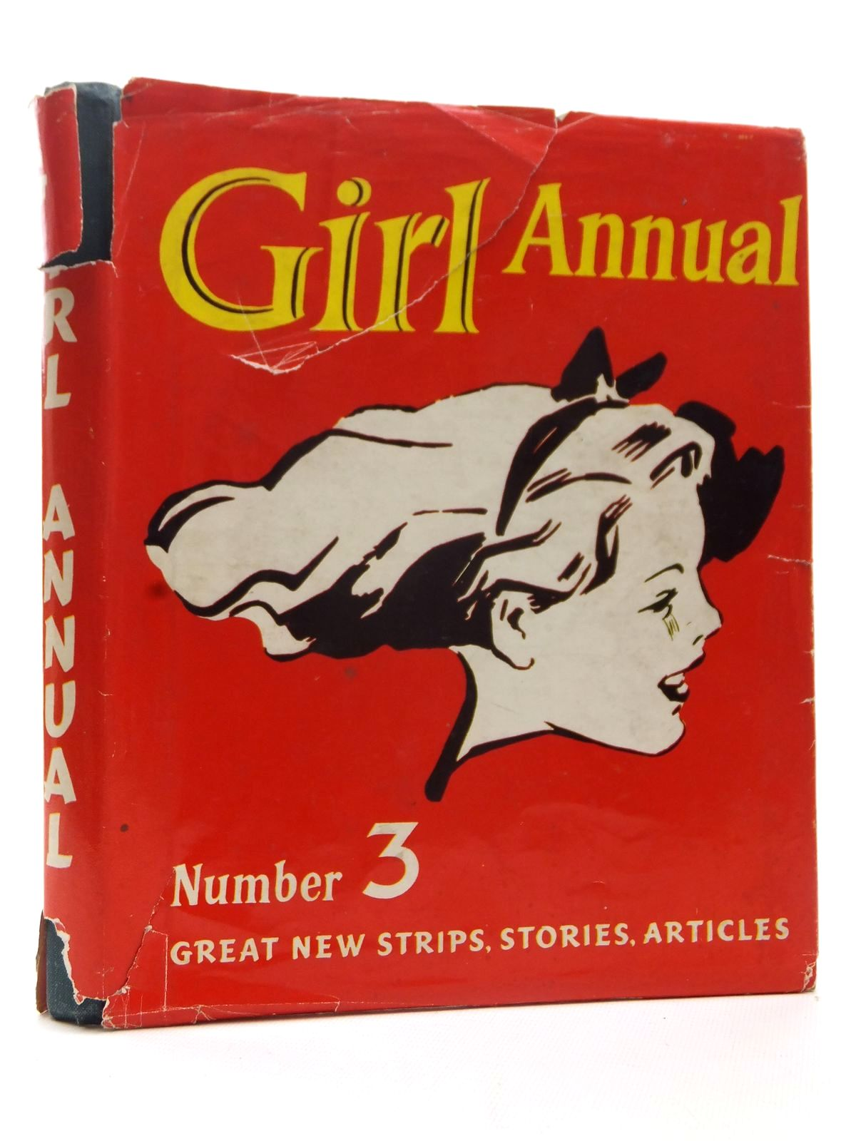 Photo of GIRL ANNUAL NO. 3 written by Morris, Marcus published by Hulton Press Ltd. (STOCK CODE: 2124102)  for sale by Stella & Rose's Books