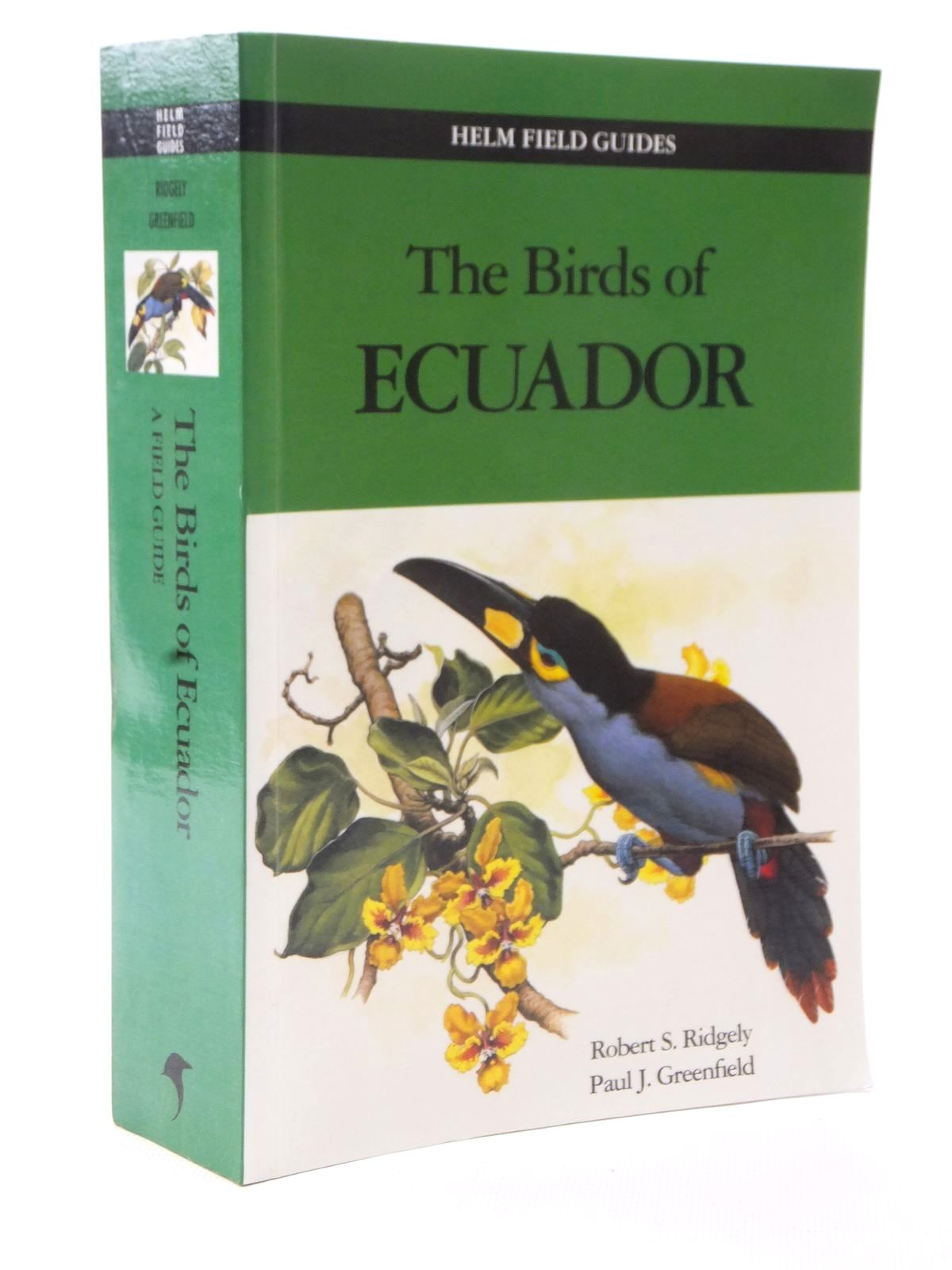 Photo of THE BIRDS OF ECUADOR VOLUME II (HELM FIELD GUIDES) written by Ridgely, Robert S.<br />Greenfield, Paul J. published by Christopher Helm (STOCK CODE: 2124120)  for sale by Stella & Rose's Books