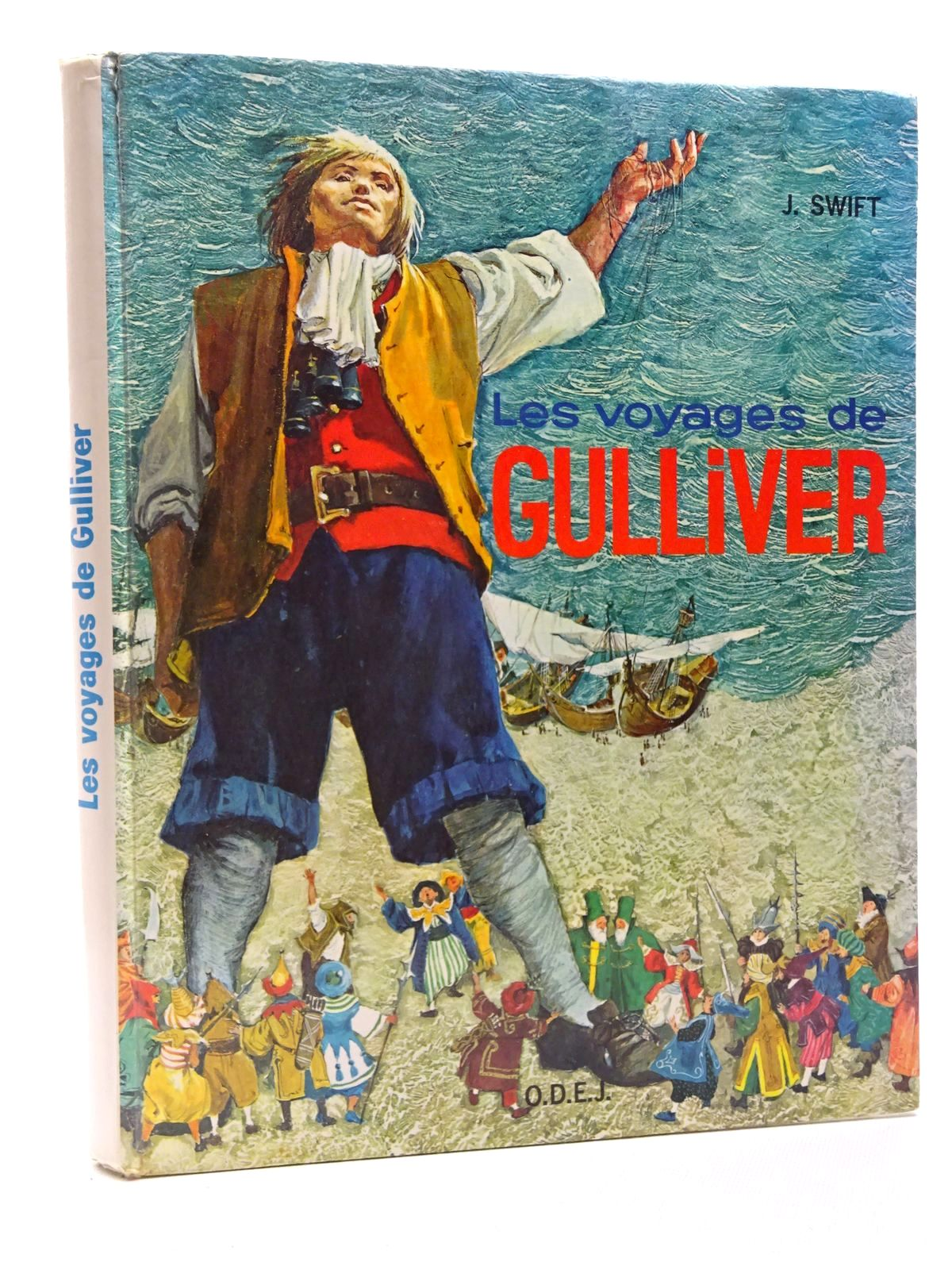 Photo of LES VOYAGES DE GULLIVER written by Swift, Jonathan illustrated by De Maraja, published by O.D.E.J. (STOCK CODE: 2124137)  for sale by Stella & Rose's Books