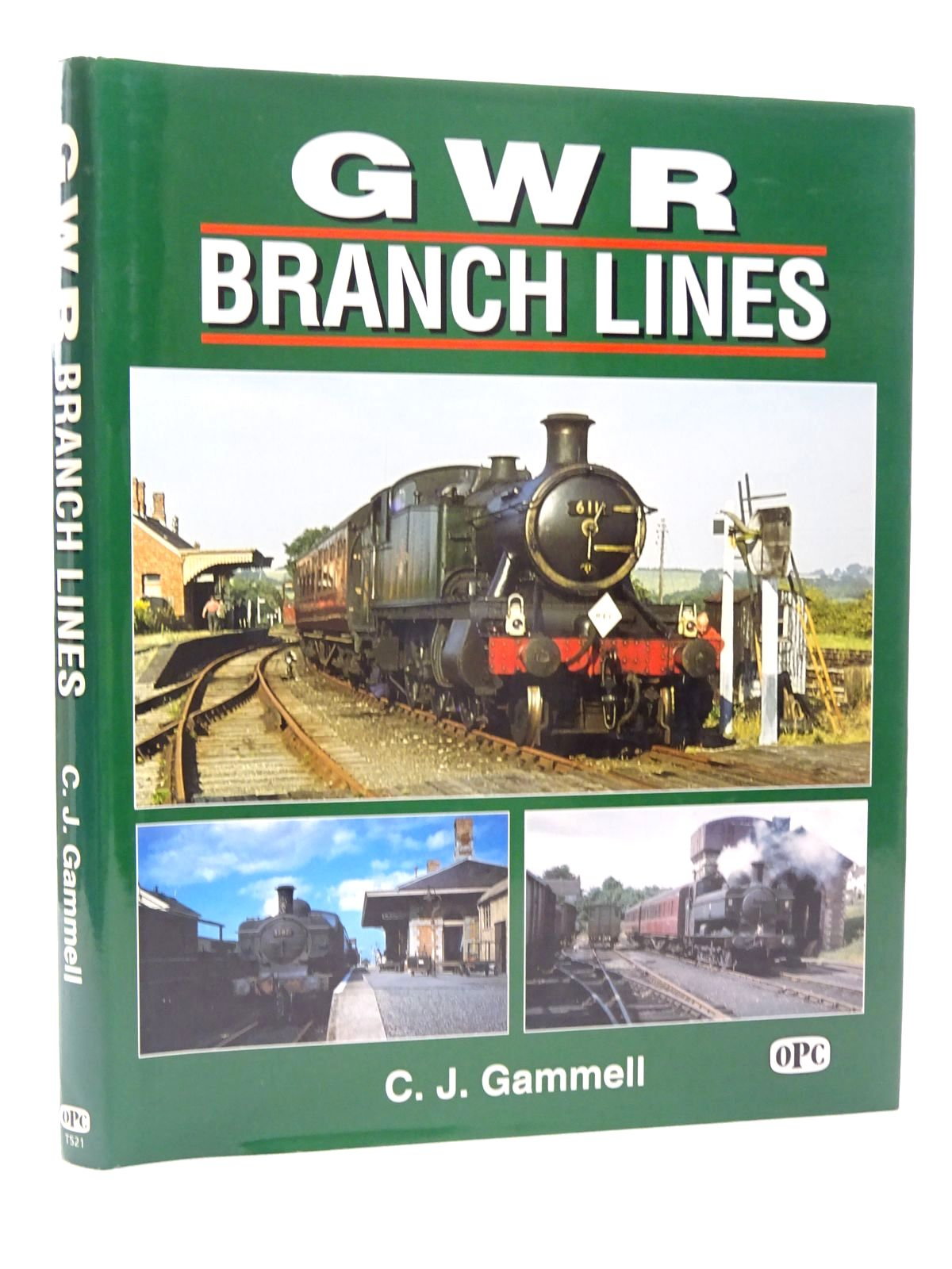Photo of GWR BRANCH LINES written by Gammell, Christopher J. published by Oxford Publishing (STOCK CODE: 2124146)  for sale by Stella & Rose's Books