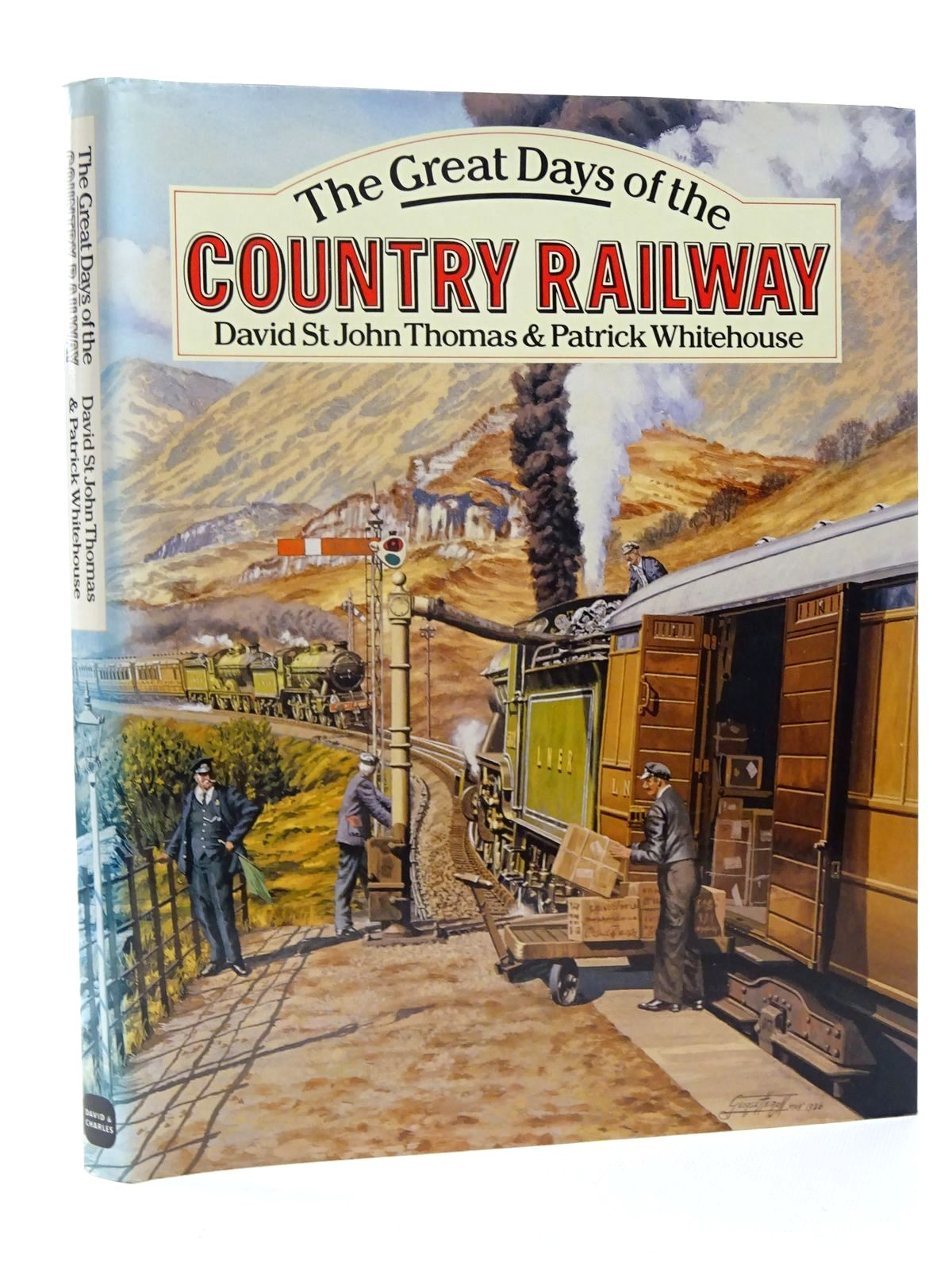 Photo of THE GREAT DAYS OF THE COUNTRY RAILWAY written by Thomas, David St John<br />Whitehouse, Patrick B. published by David & Charles (STOCK CODE: 2124156)  for sale by Stella & Rose's Books