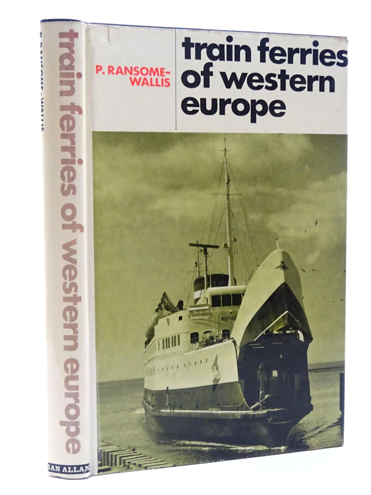 Photo of TRAIN FERRIES OF WESTERN EUROPE written by Ransome-Wallis, P. published by Ian Allan (STOCK CODE: 2124180)  for sale by Stella & Rose's Books