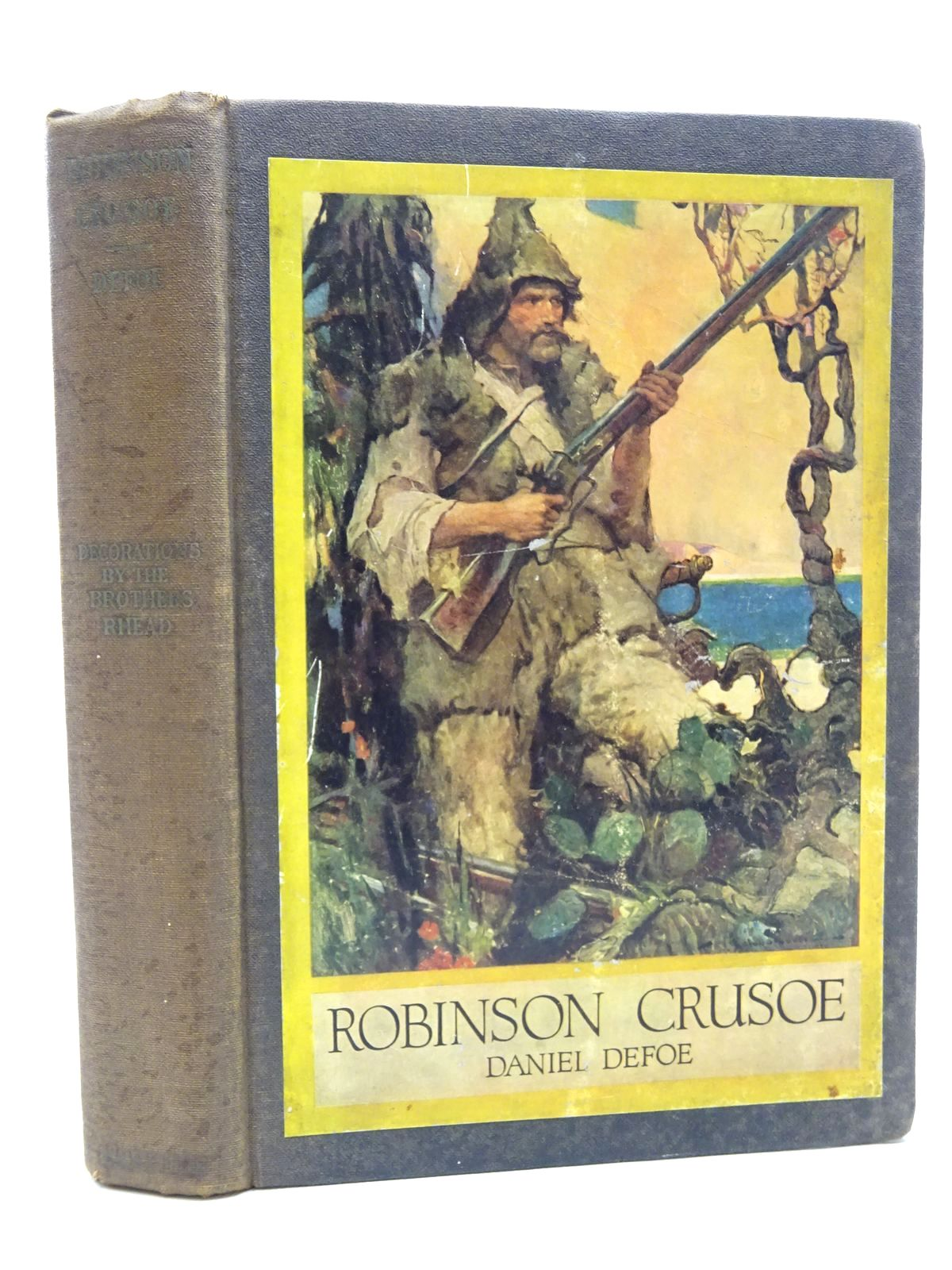 Photo of THE LIFE AND STRANGE SURPRISING ADVENTURES OF ROBINSON CRUSOE
