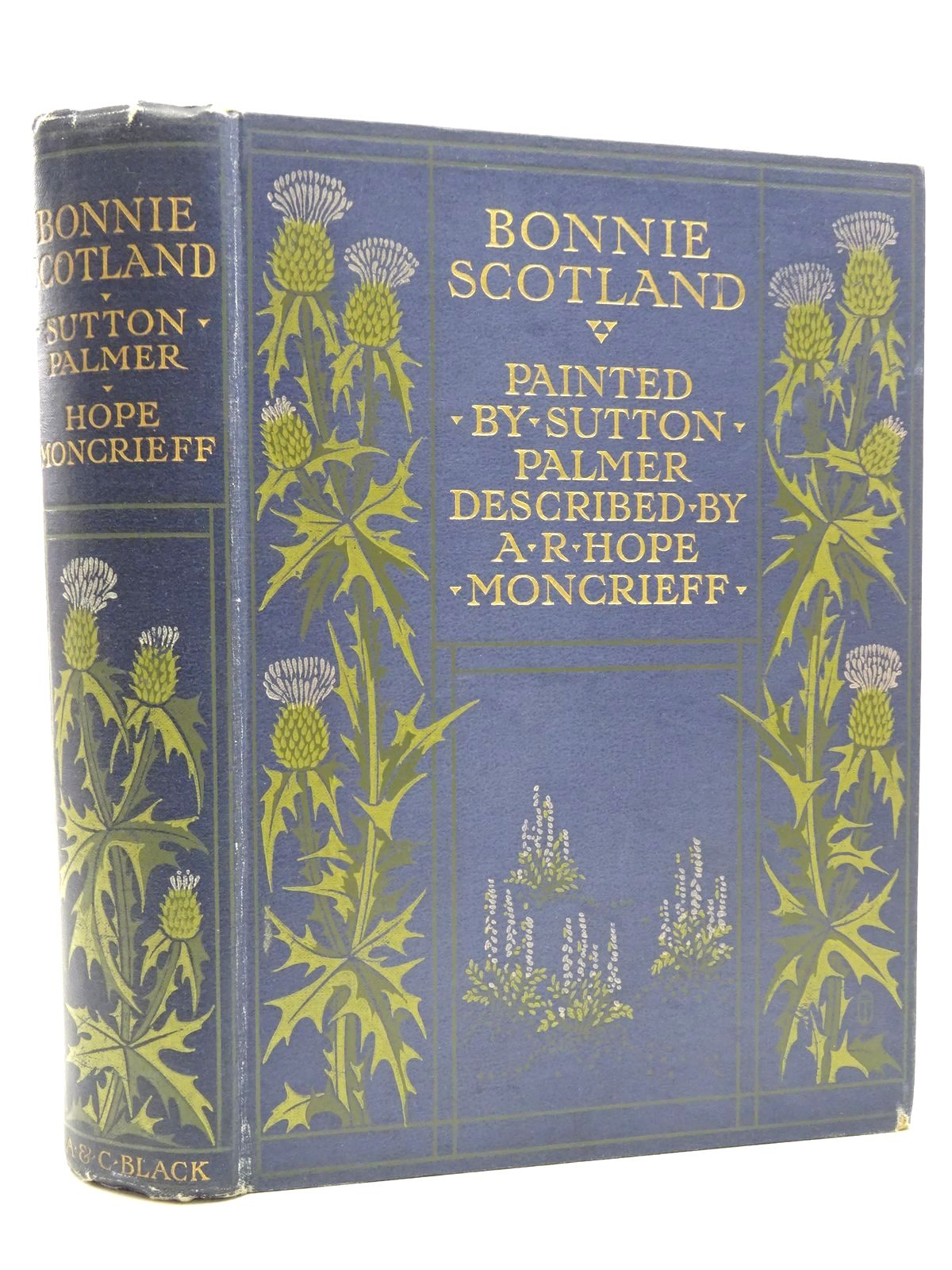 Photo of BONNIE SCOTLAND written by Moncrieff, A.R. Hope illustrated by Palmer, Sutton published by A. & C. Black (STOCK CODE: 2124218)  for sale by Stella & Rose's Books